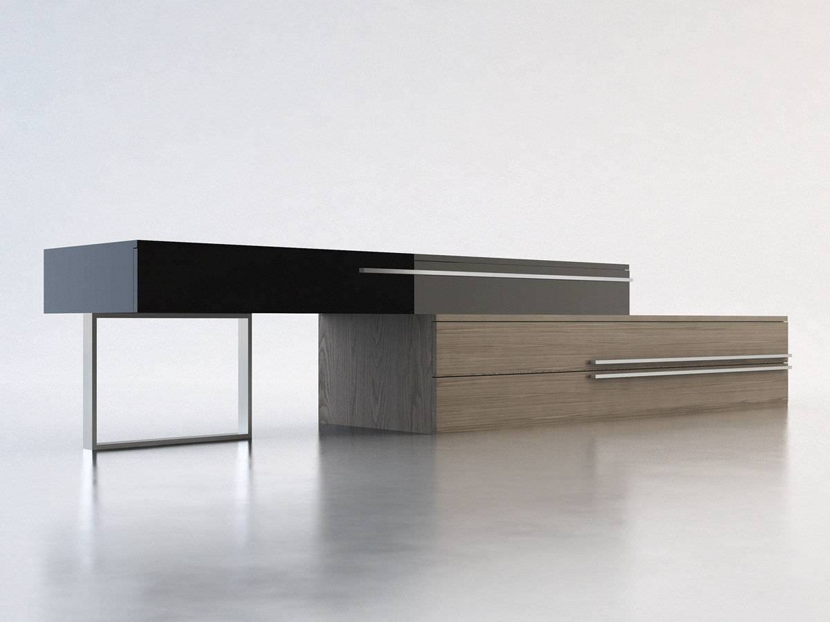 Contemporary Sideboard / Wooden / Lacquered Wood - Gramercy - Modloft with regard to Media Sideboards (Image 5 of 15)