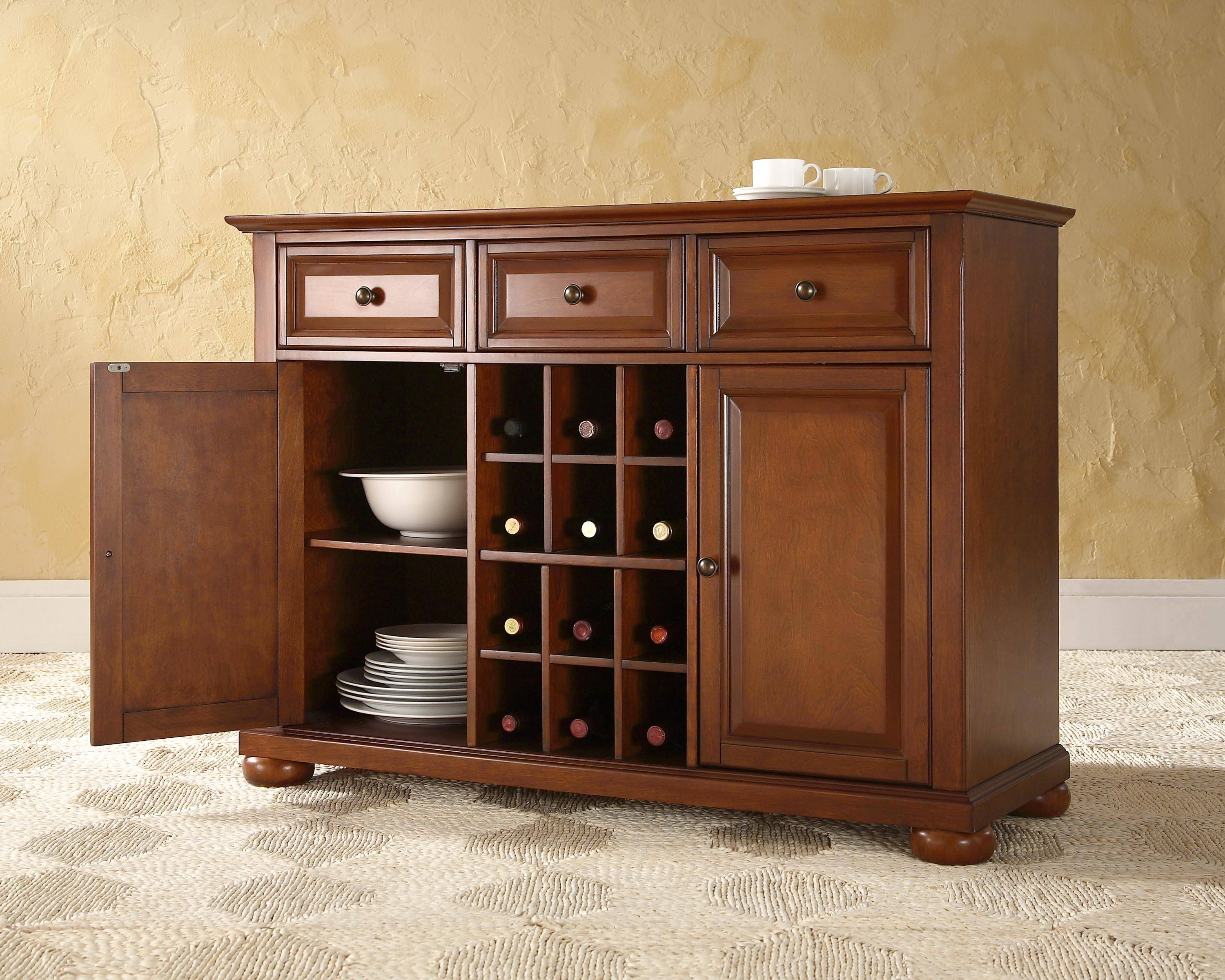 Corner Kitchen Buffets And Hutches : Decorative Kitchen Sideboard throughout Corner Sideboards (Image 1 of 15)