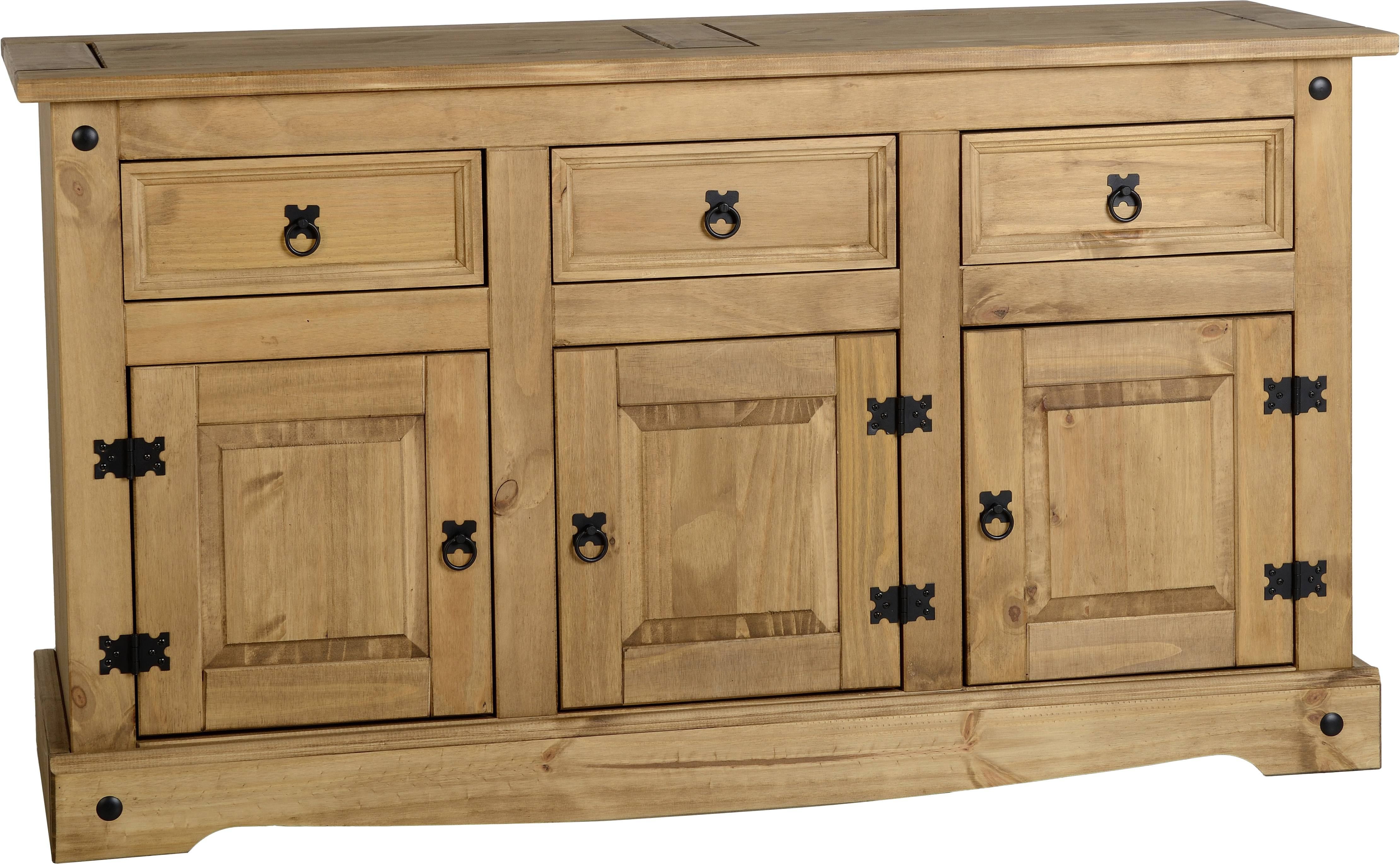 Corona Dining Room Furniture – Cherry Lane Garden Centre With Pine Sideboards (View 13 of 15)
