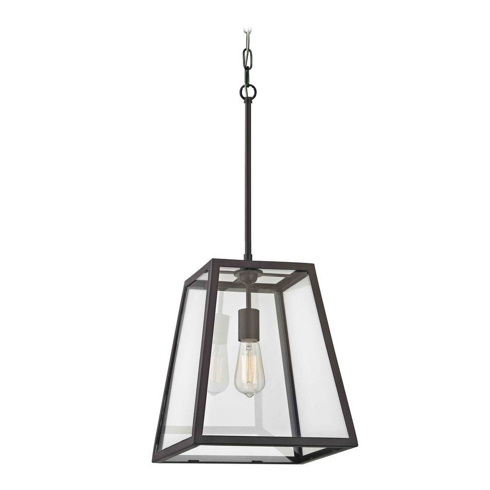 Country Bronze Mini-Pendant Light With Square Shade | 1168-1-25 inside Square Pendant Light Fixtures (Image 7 of 15)