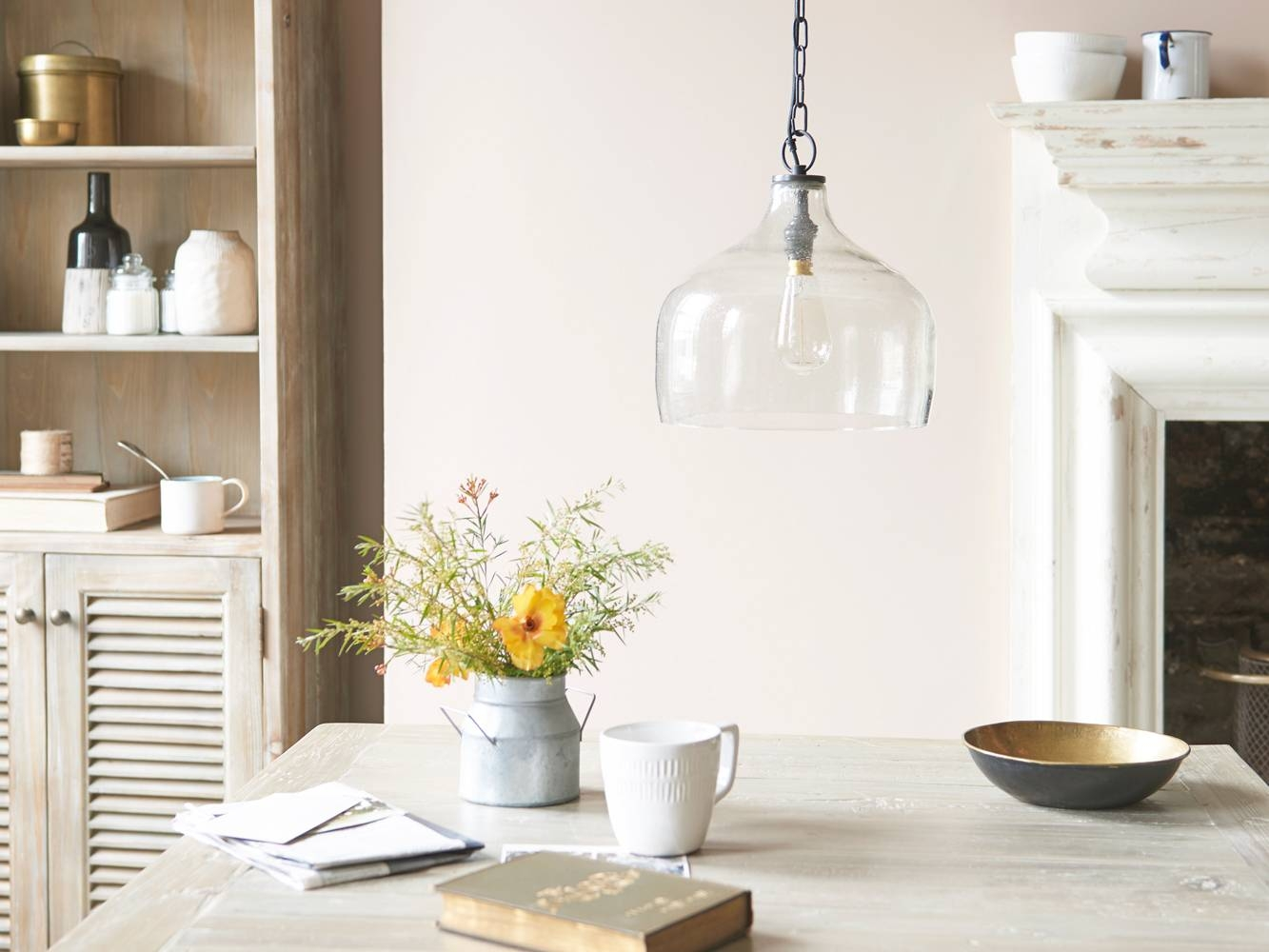 Cowbell Medium Glass Pendant Bell Shaped Light Lamp Loaf Whimsical Pertaining To Nursery Pendant Lights (View 11 of 15)