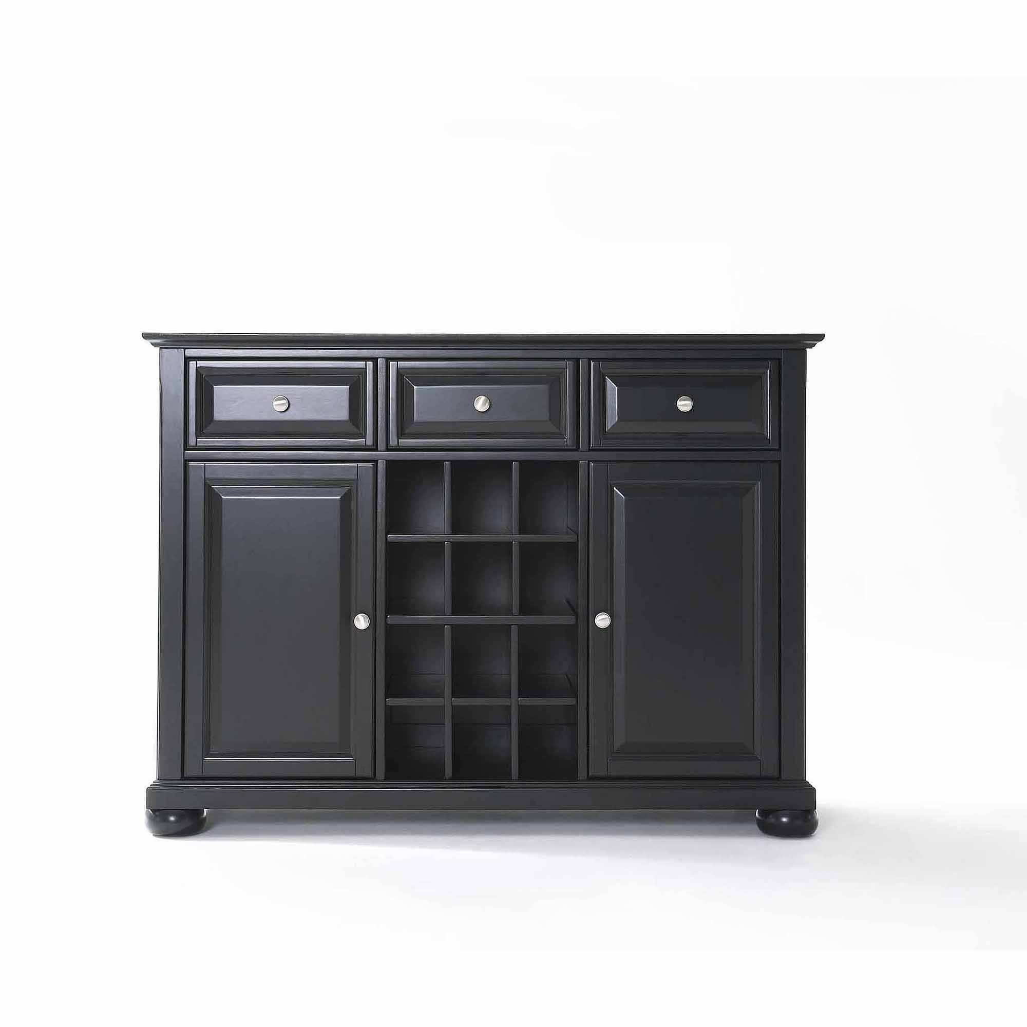 Crosley Furniture Alexandra Buffet Server And Sideboard Cabinet Within 60 Inch Sideboards (View 14 of 15)