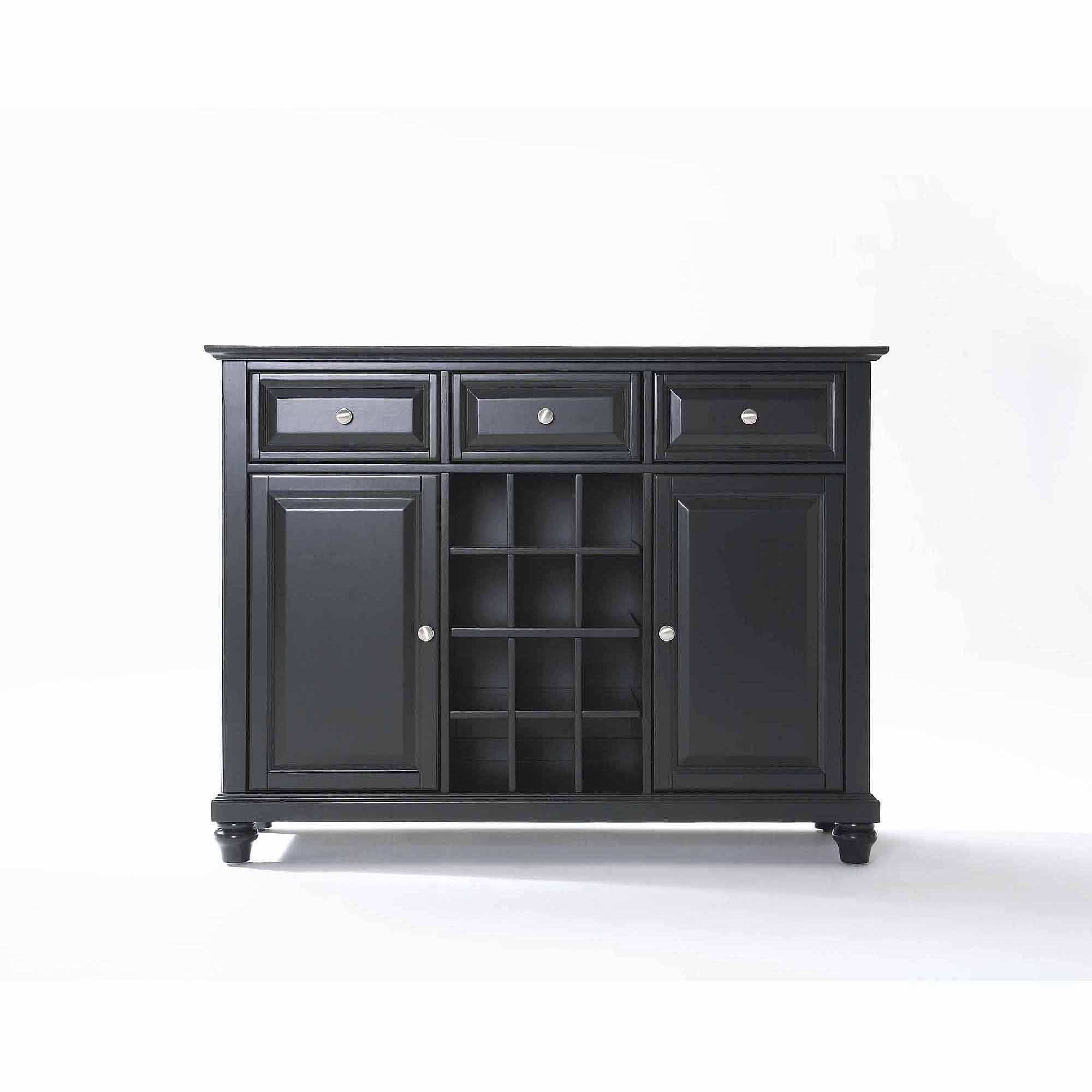 Crosley Furniture Cambridge Buffet Server And Sideboard Cabinet inside 50 Inch Sideboards (Image 9 of 15)