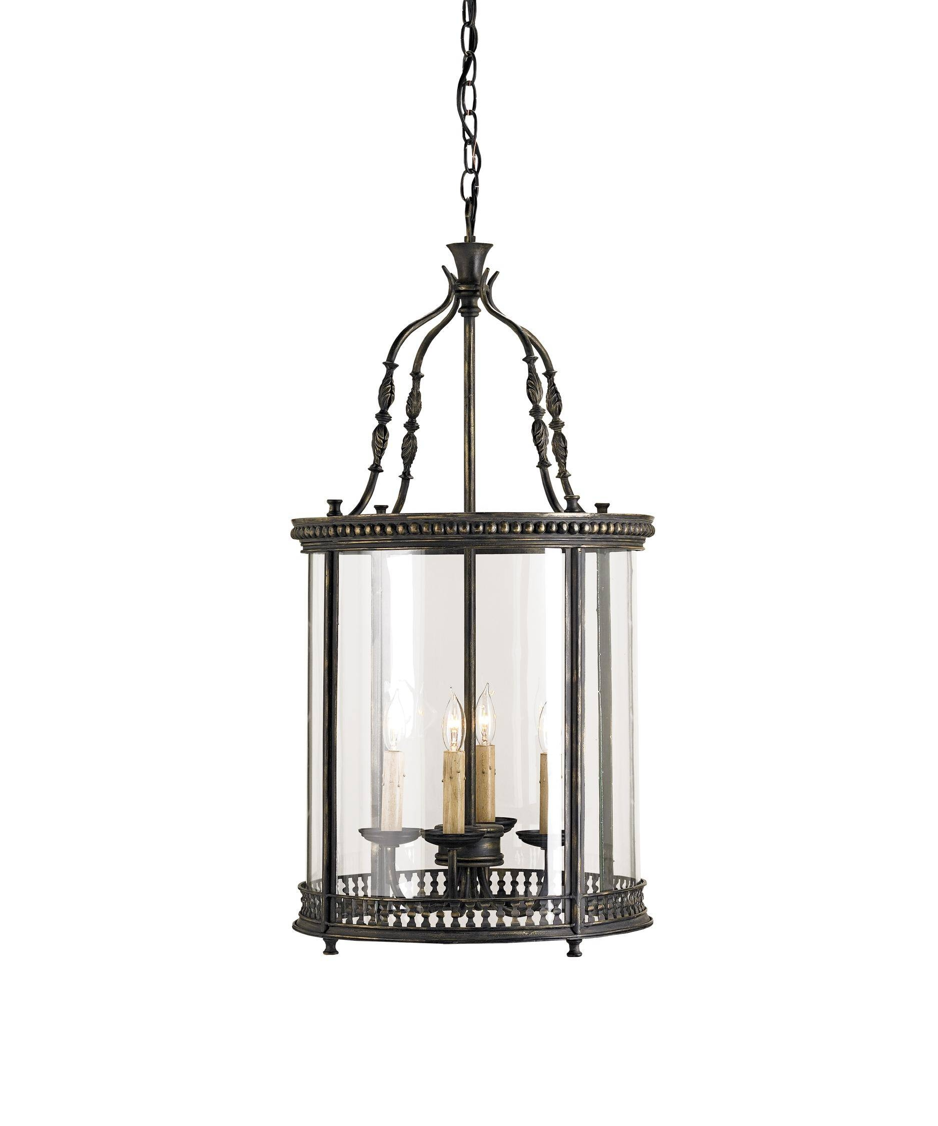 Currey And Company 9046 Grayson 16 Inch Wide Foyer Pendant Regarding Foyer Pendant Light Fixtures (View 11 of 15)