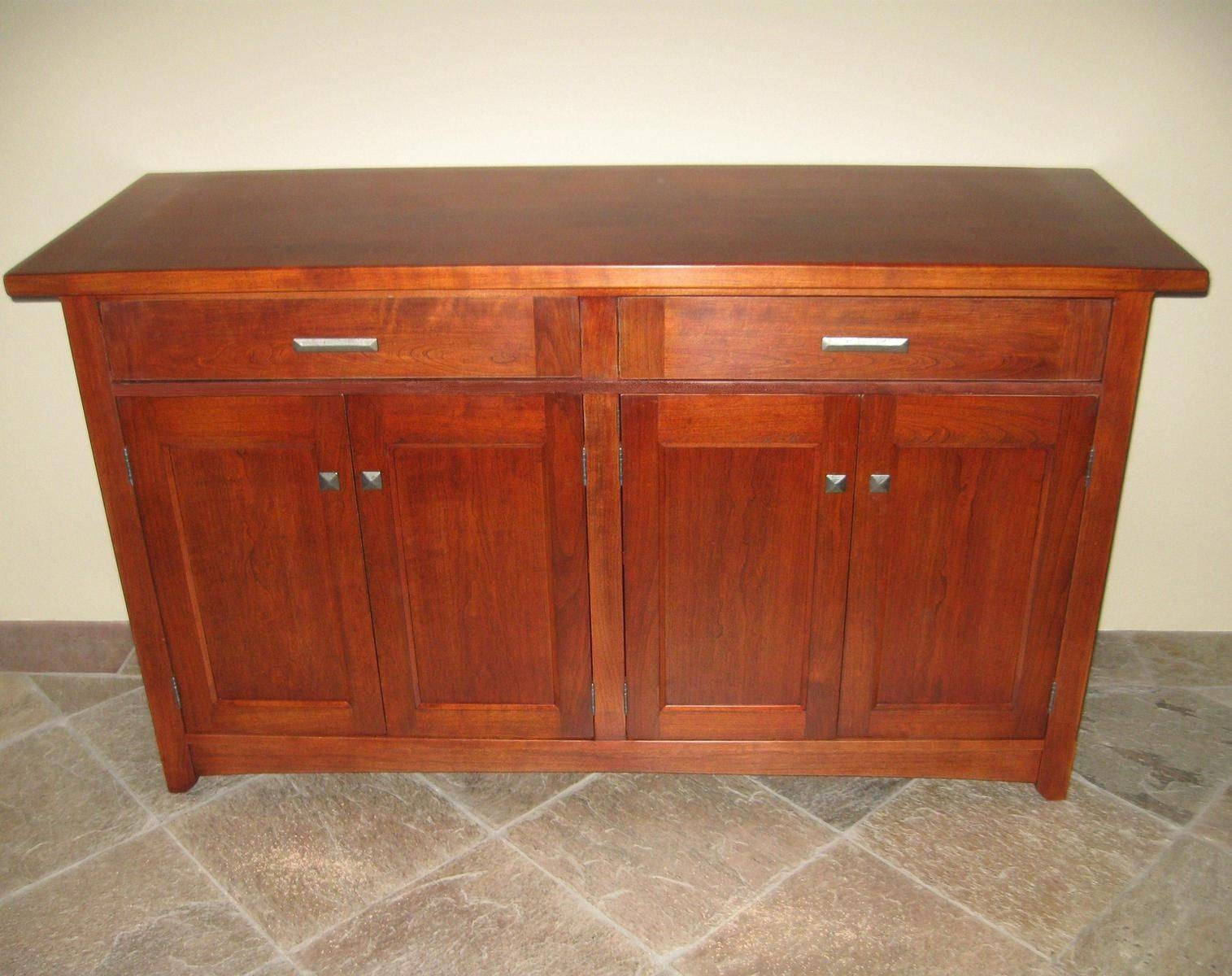 Custom Cherry Sideboardalexander Woodworking | Custommade Regarding Cherry Sideboards (View 2 of 15)