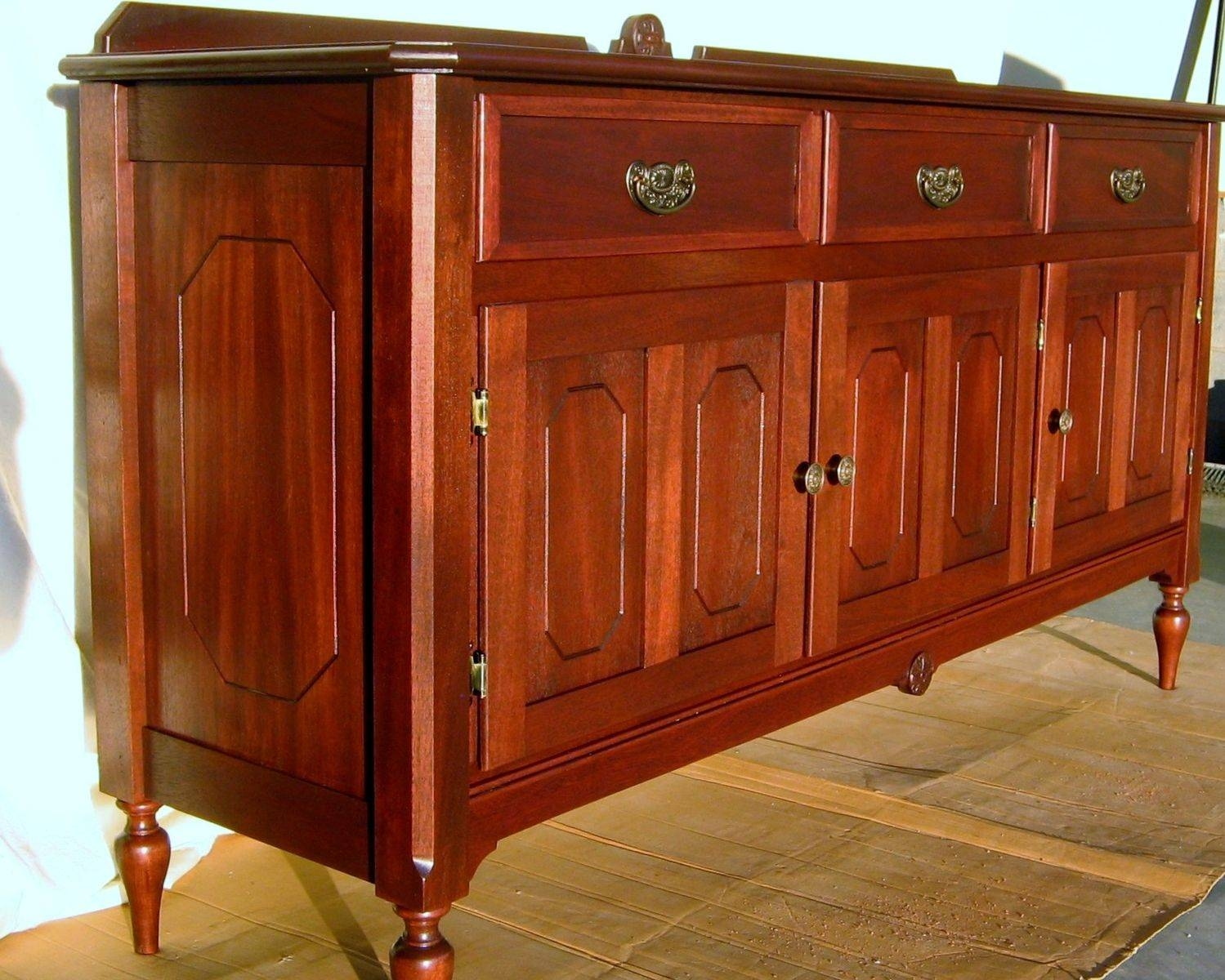 Custom Made Antique Reproduction Buffet/sideboardwm Pinion pertaining to Antique Buffet Sideboards (Image 11 of 15)