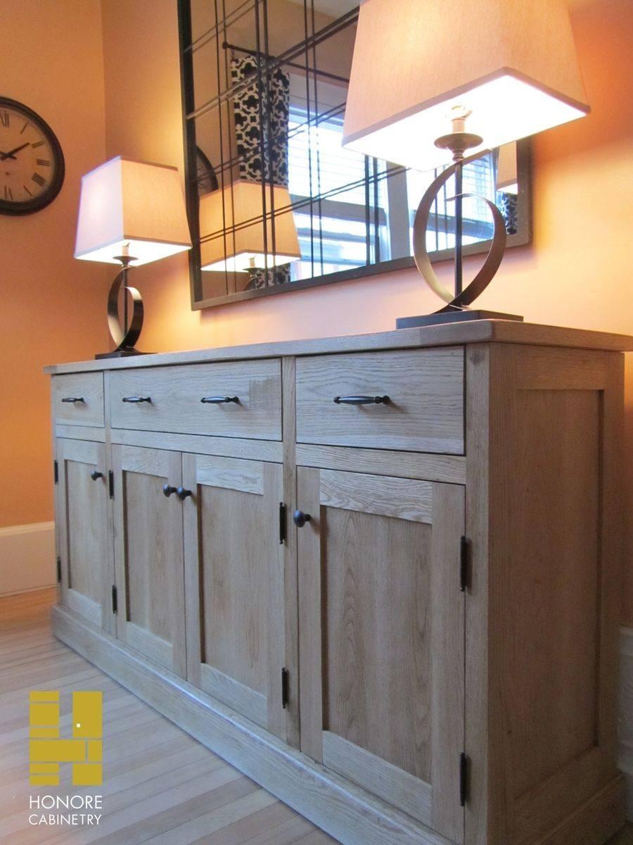 Custom Made Furnishings : Distressed Oak Sideboardhonore inside Distressed Sideboards (Image 3 of 15)
