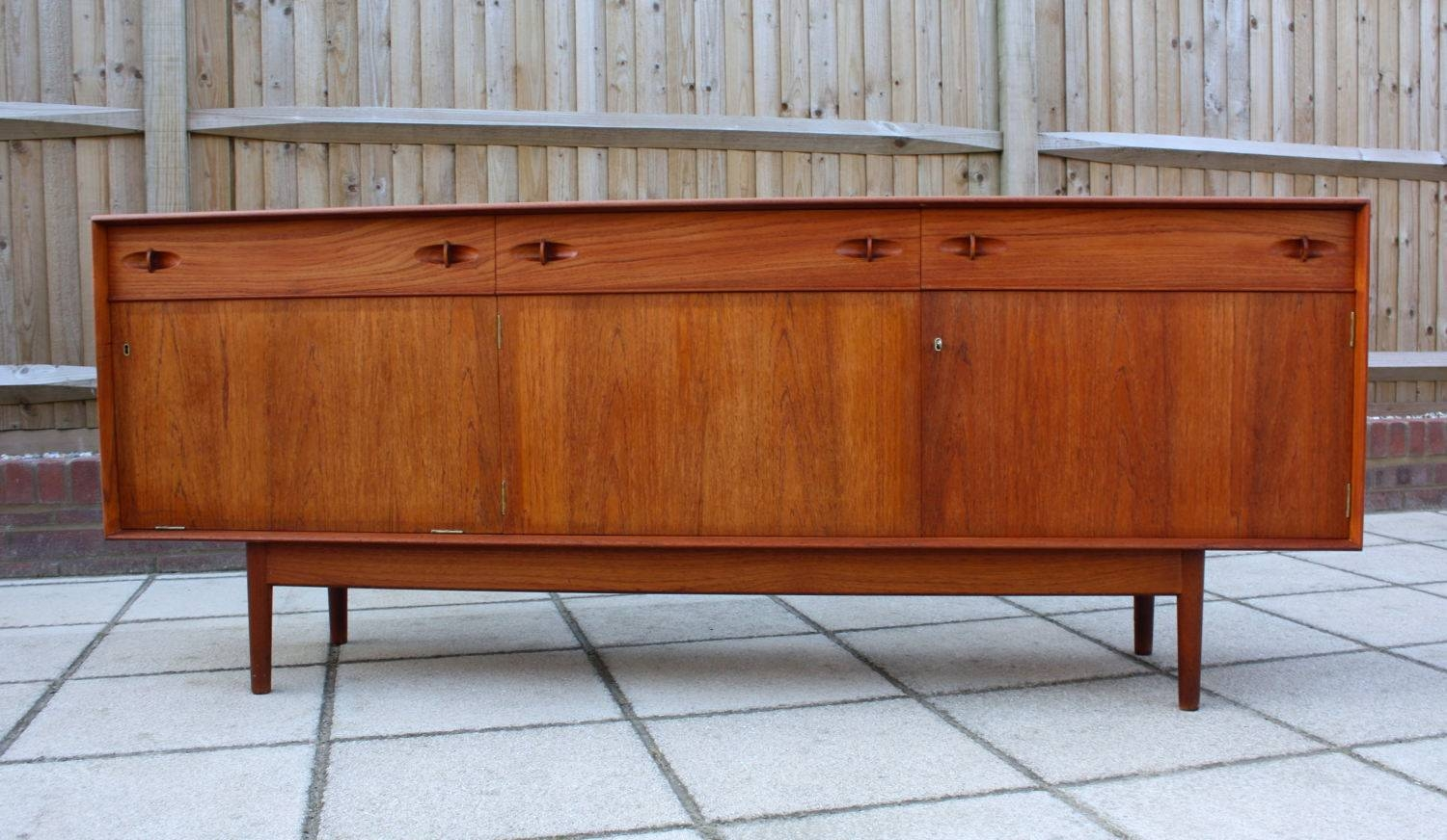 Dalescraft Mid Century Teak Sideboard Retro Vintage Danish G Plan within 50S Sideboards (Image 6 of 15)