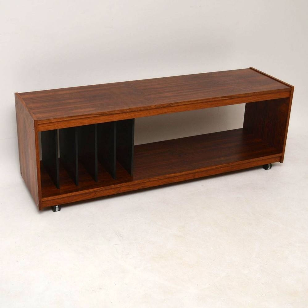 Danish Rosewood Retro Sideboard / Record Cabinet / T.v Stand with Danish Retro Sideboards (Image 6 of 15)