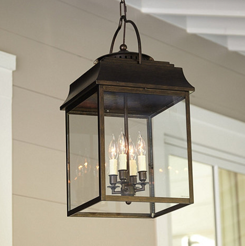 Decoration Ideas Captivating Image Of Front Porch Lighting In Outside Pendant Lights (View 3 of 15)
