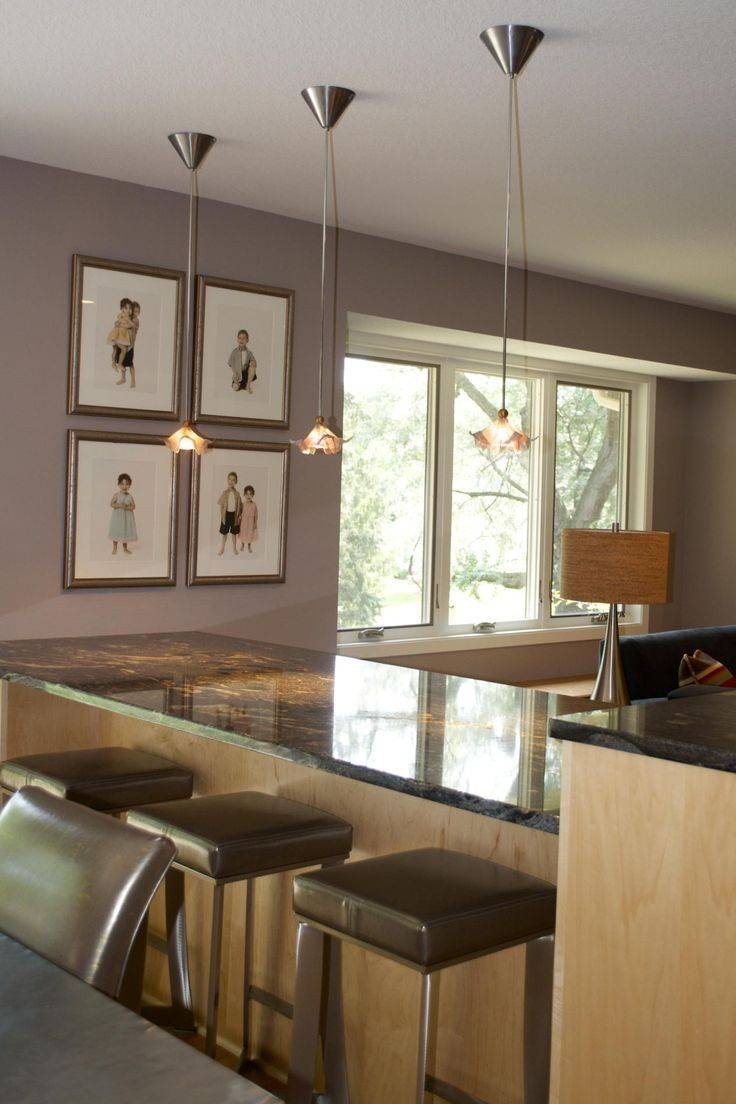 Decoration In Hanging Lights Over Kitchen Bar Pertaining To House Pertaining To Silver Kitchen Pendant Lighting (View 5 of 15)