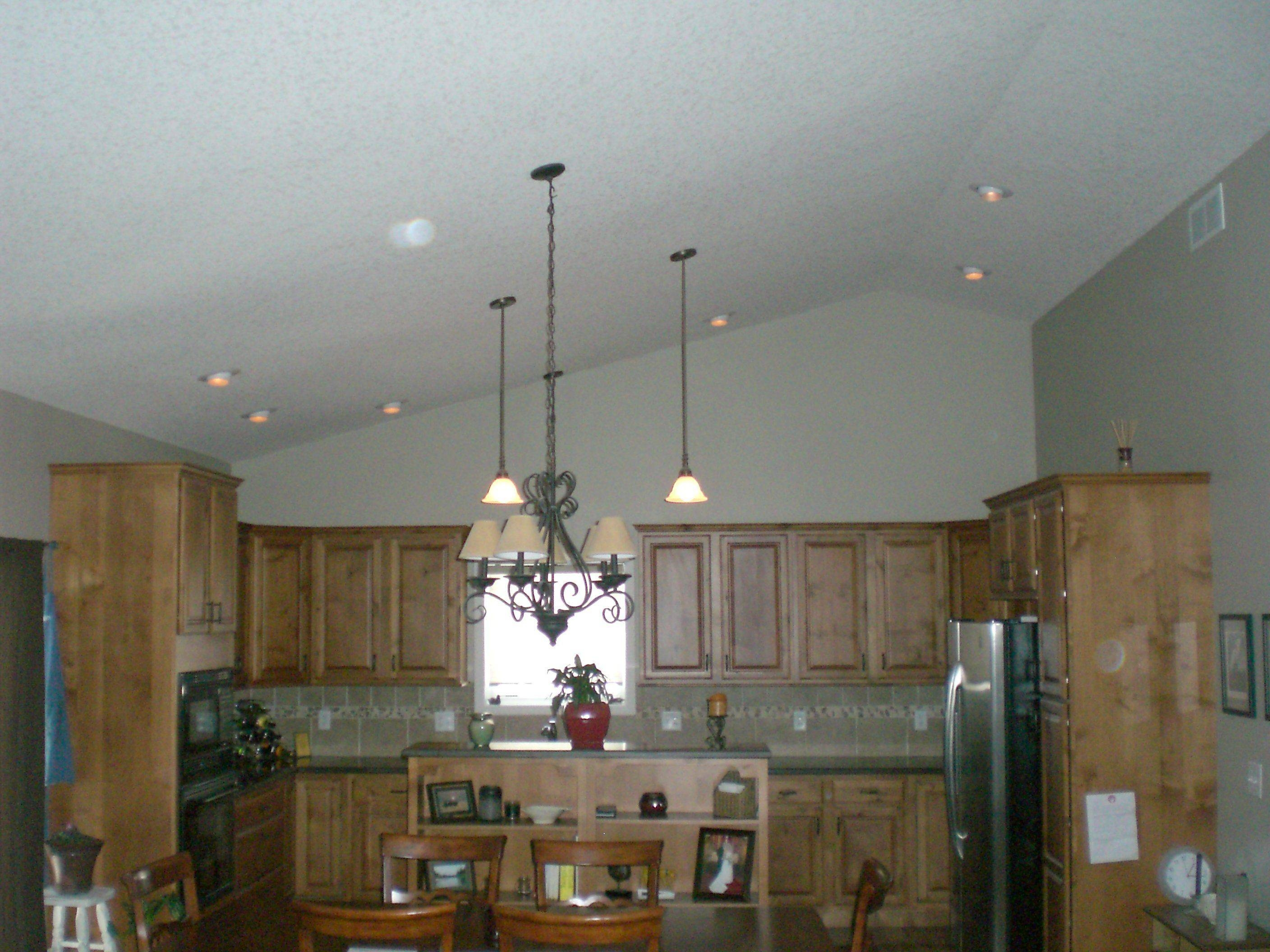 Decorative Kitchen Lighting Vaulted Ceiling Amazing Recessed Throughout Pendant Lights For Sloped Ceiling (View 6 of 15)