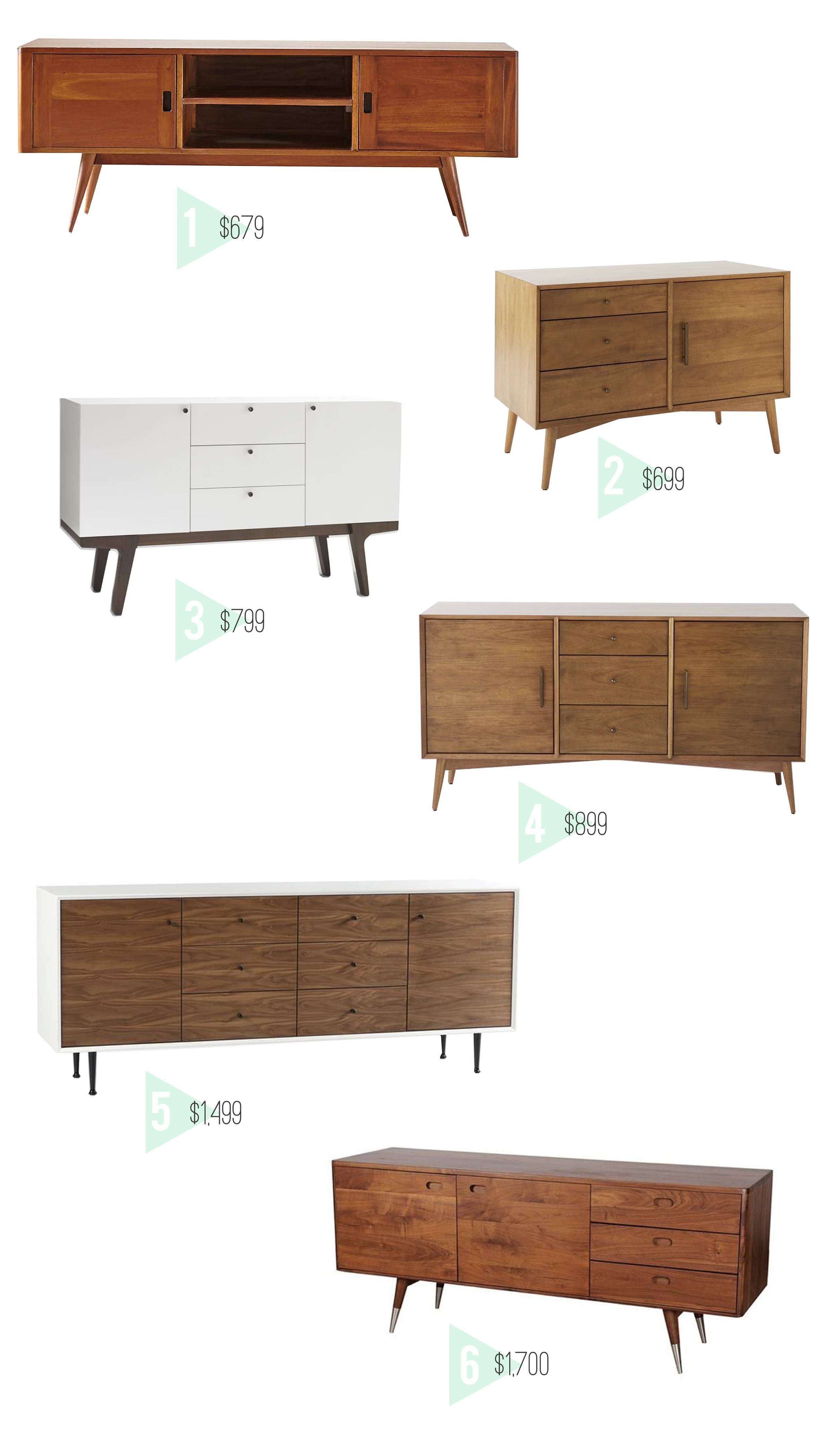 Design Evolving - In Search Of The Perfect Credenza - Design Evolving inside West Elm Sideboards (Image 4 of 15)