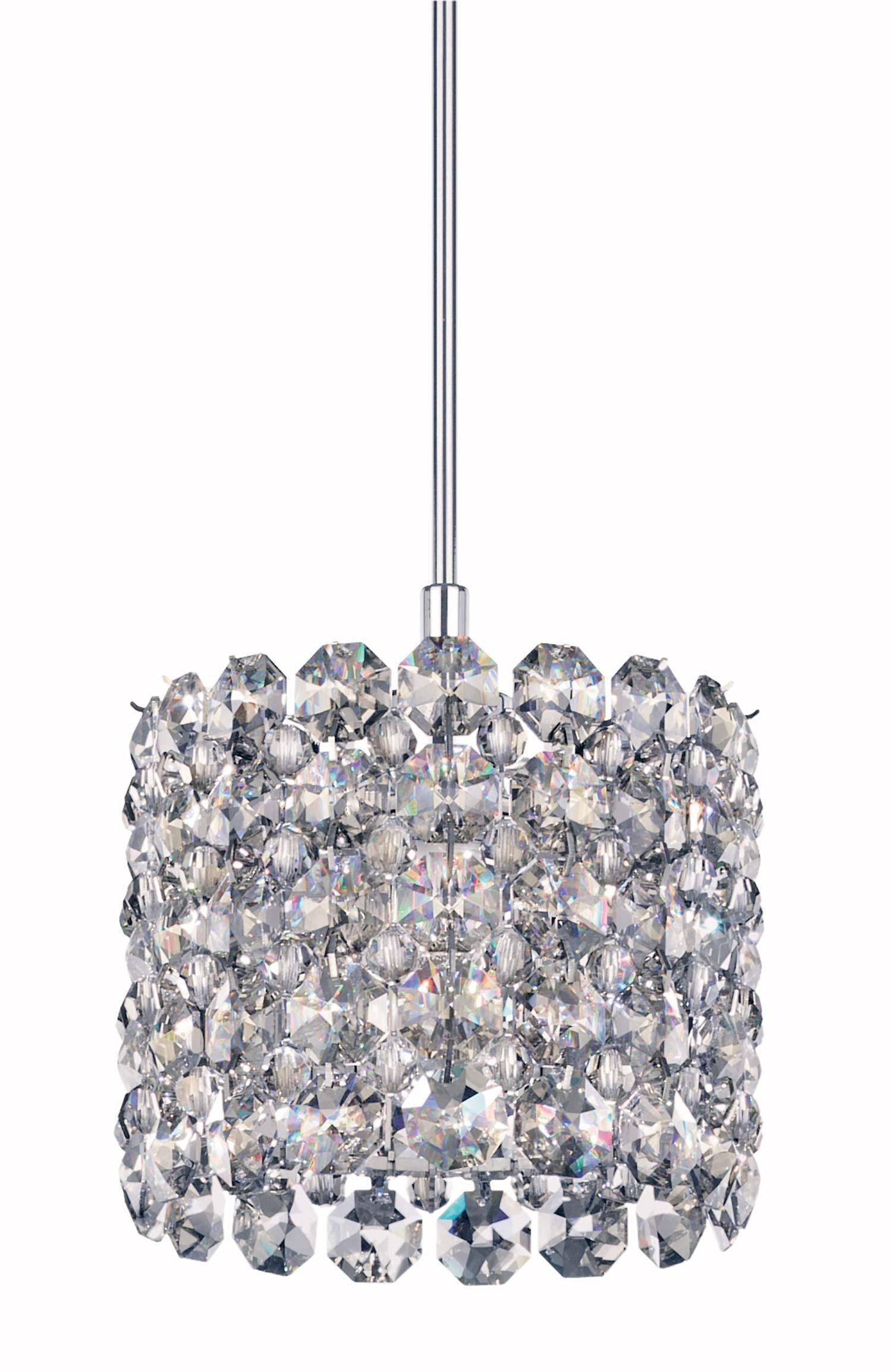 Design Of Crystal Pendant Lights With Interior Decor Inspiration throughout Crystal Teardrop Pendant Lights (Image 4 of 15)