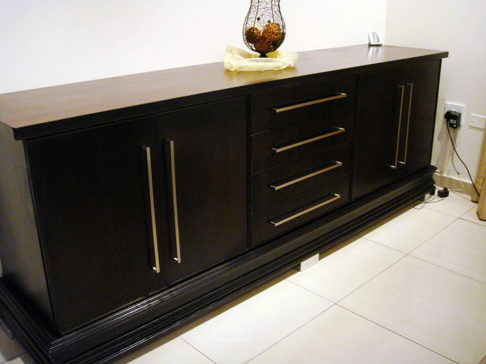Dining Room Bar Sideboard | Latest Home Decor And Design In Black Dining Room Sideboards (View 14 of 15)