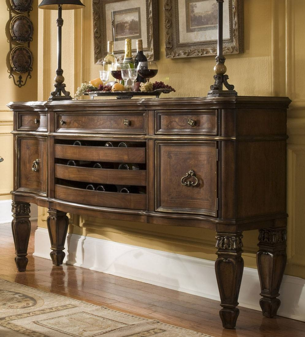 Dining Room Buffet Cabinet Sideboards Buffets Storage Servers 17 Throughout Dining Room Sideboards And Buffets (View 5 of 15)