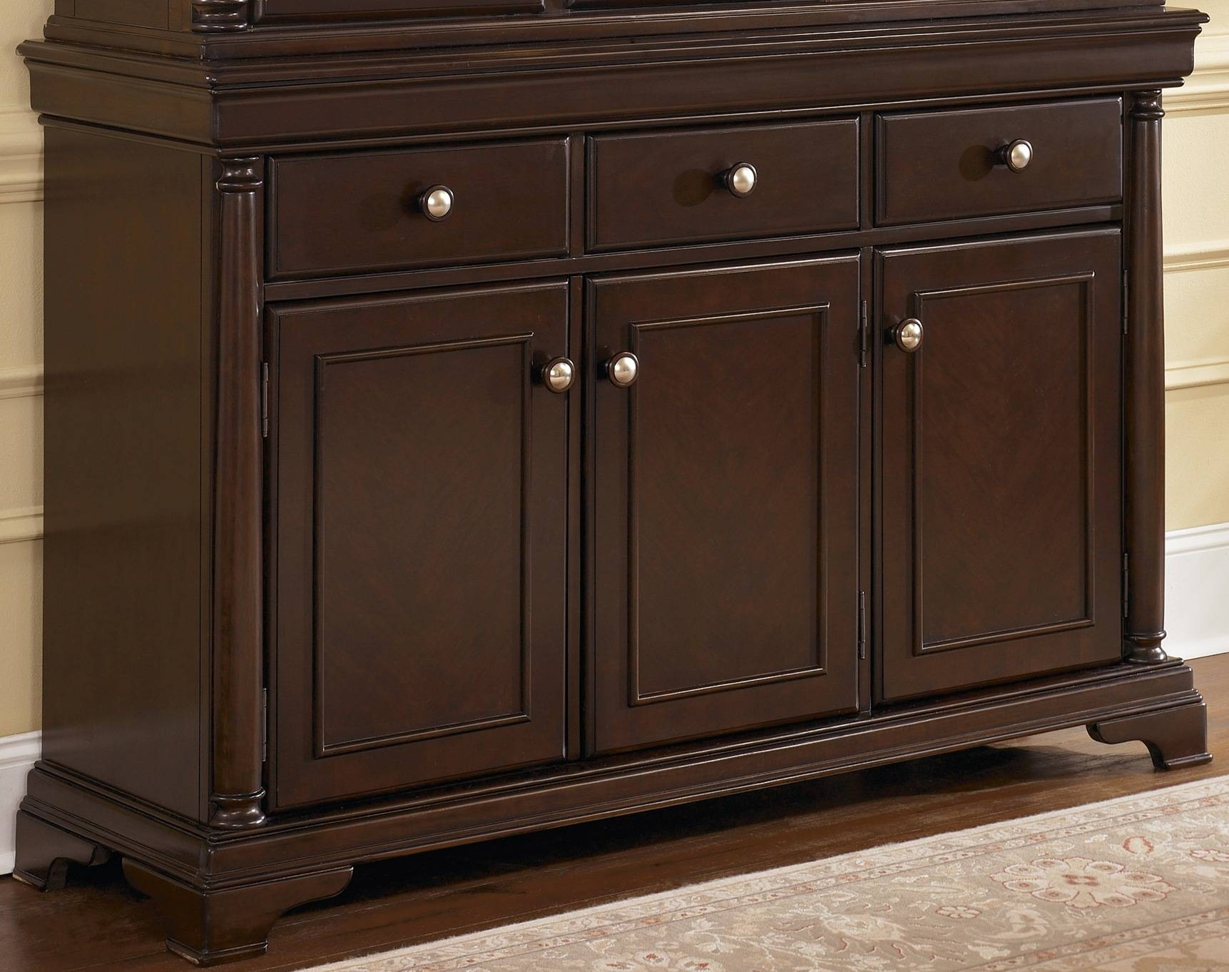 Dining Room Credenza Ideas Including Buffet Cabinet Pictures Pertaining To Black Dining Room Sideboards (View 13 of 15)