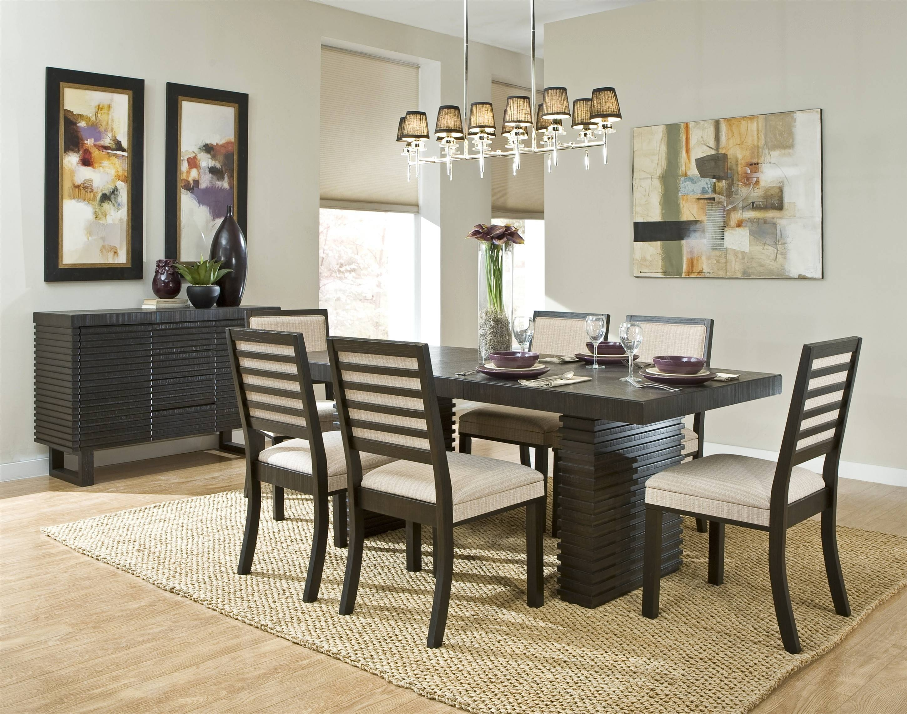 Dining Room Sideboard Decorating Ideas ~ Dining Room with Dining Room Sets With Sideboards (Image 4 of 15)