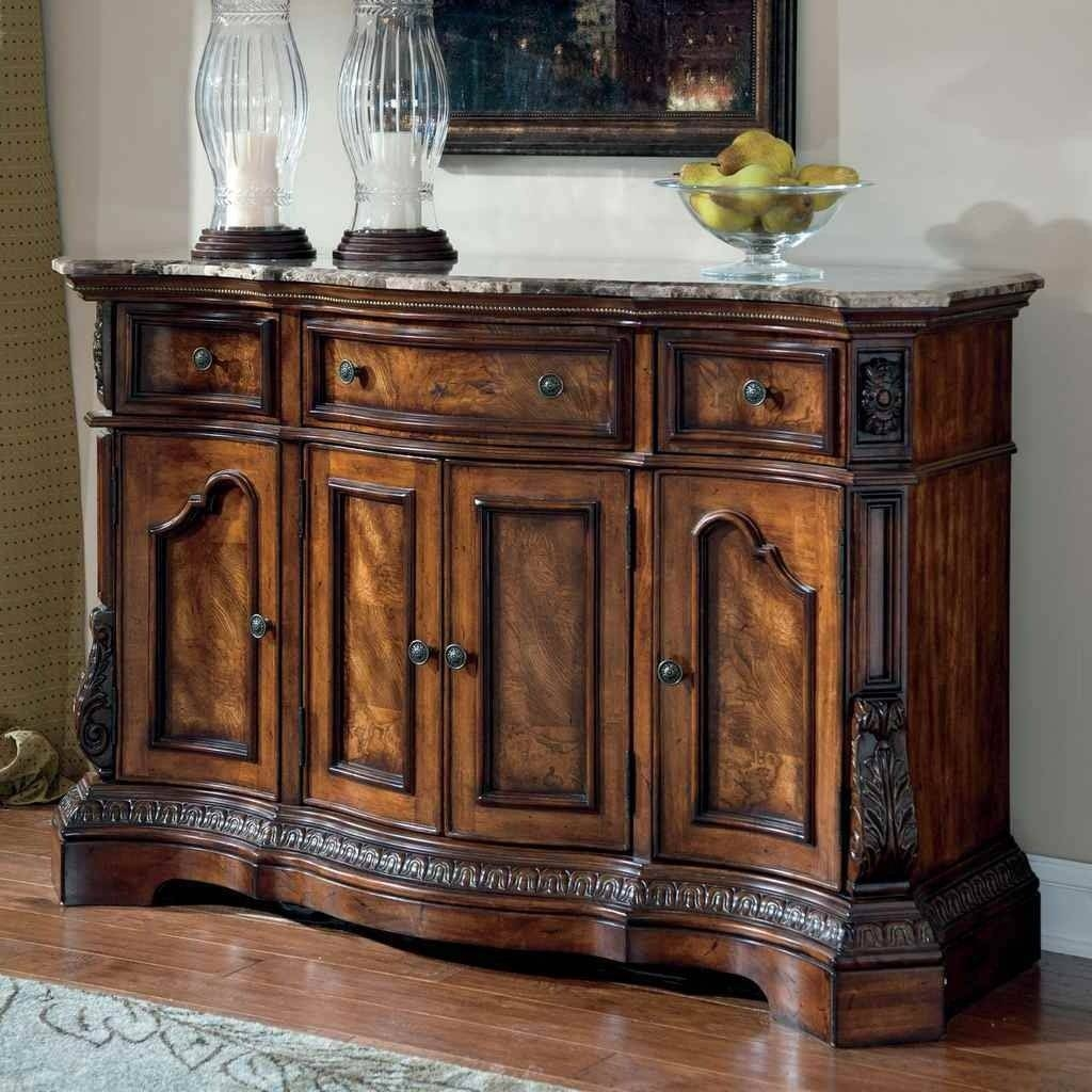 Dinning Pub Table Sideboard Buffet Sideboards Coffee Serving Image Intended For Glass Buffet Table Sideboards (View 7 of 15)