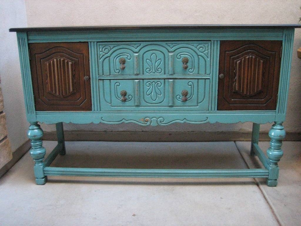 Distressed Buffet Sideboard Ideas — New Decoration : Distressed inside Distressed Sideboards And Buffets (Image 3 of 15)
