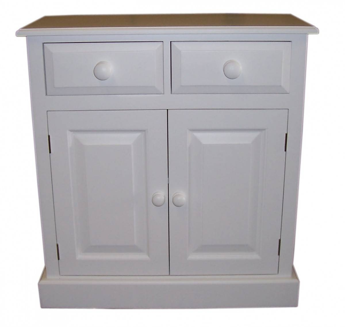 """Doors And Drawers Shallow Depth Sideboard - Available In 2'6"""", 3 intended for 14 Inch Deep Sideboards (Image 11 of 15)"""