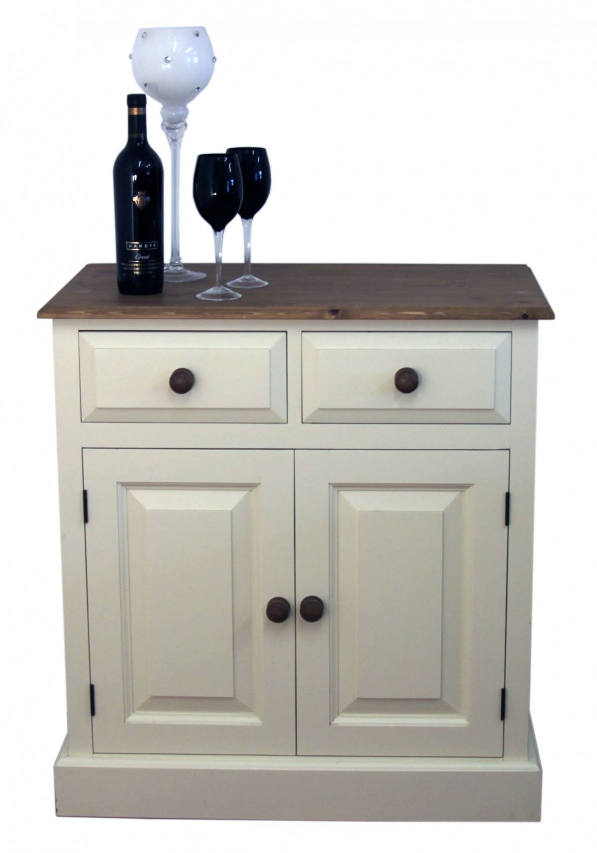 "Doors And Drawers Shallow Depth Sideboard - Available In 2'6"", 3 with Shallow Sideboards (Image 6 of 15)"