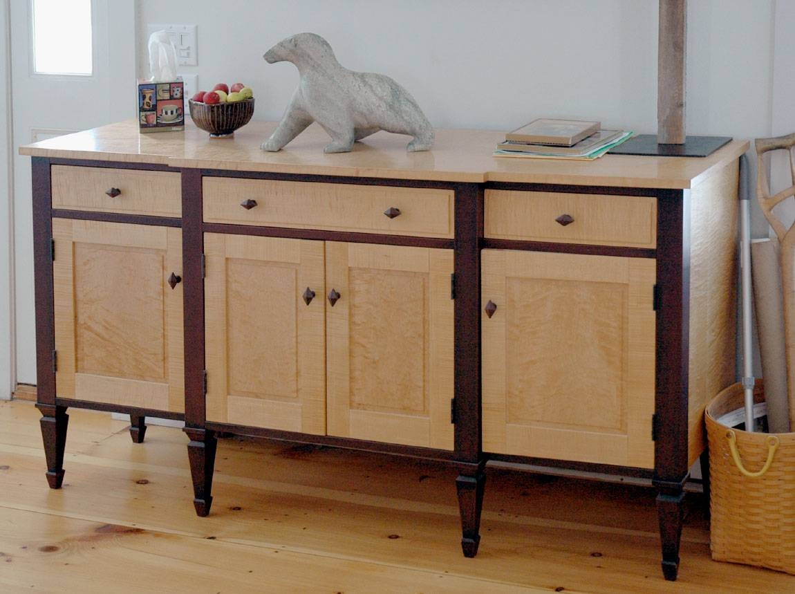 Dorset Custom Furniture – A Woodworkers Photo Journal: July 2011 Within Maple Sideboards (View 15 of 15)
