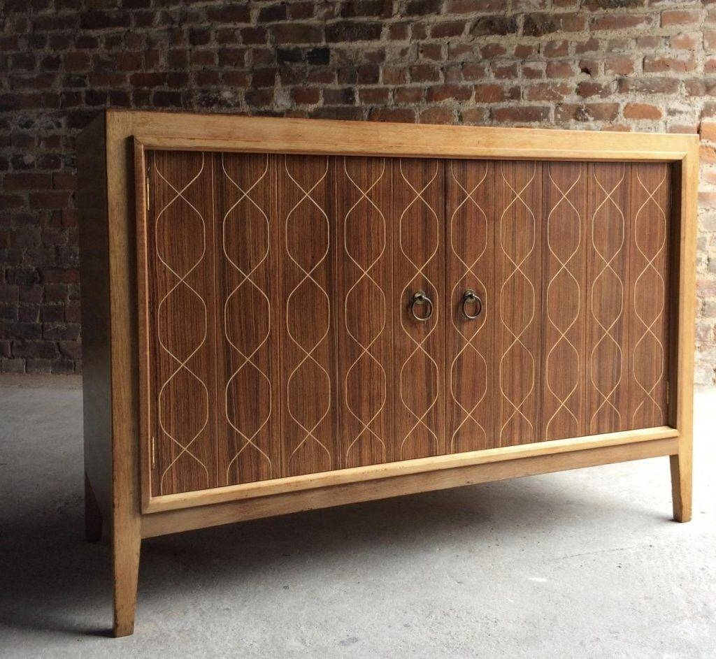 Double Helix Sideboard Von David Booth Für Gordon Russell, 1950Er with regard to Gordon Russell Helix Sideboards (Image 6 of 15)