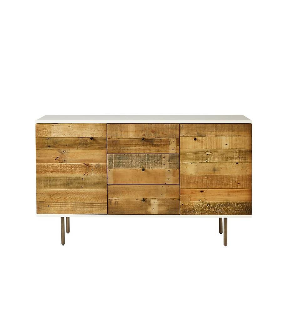 Elm Reclaimed Wood And Lacquer Sideboard pertaining to West Elm Sideboards (Image 6 of 15)