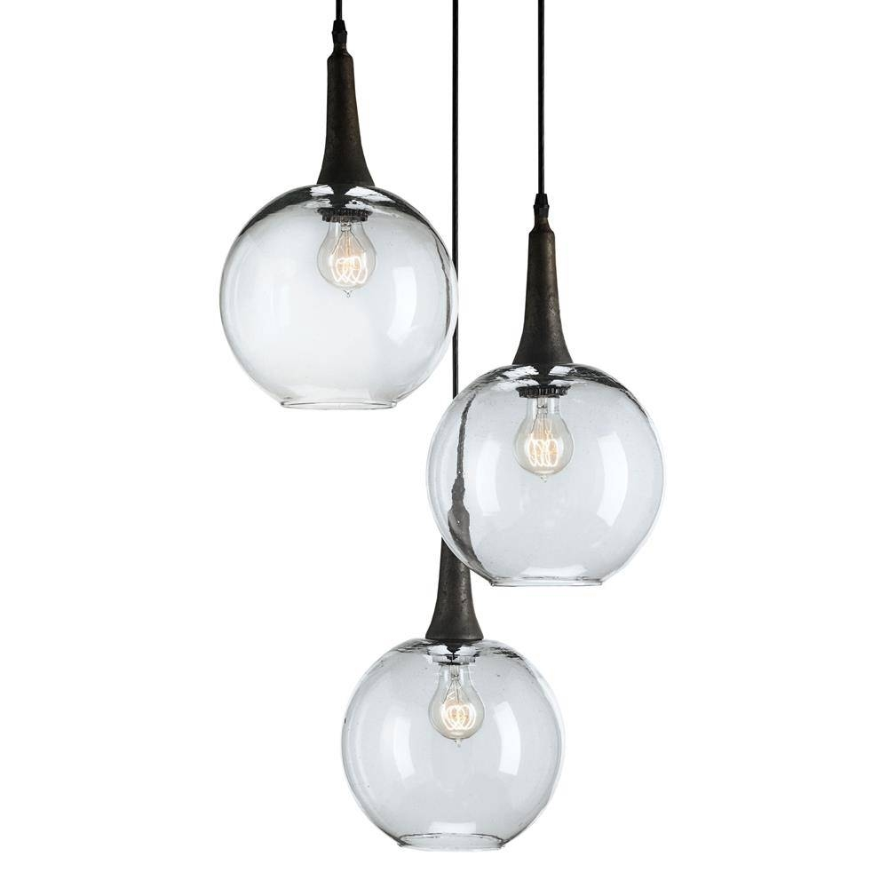 Featured Photo of Round Glass Pendant Lights