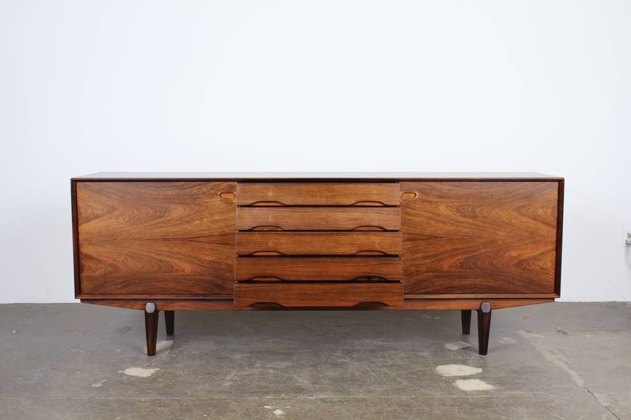 Exceptional Danish Rosewood Long, Low Sideboardskovby With Long Low Sideboards (View 2 of 15)