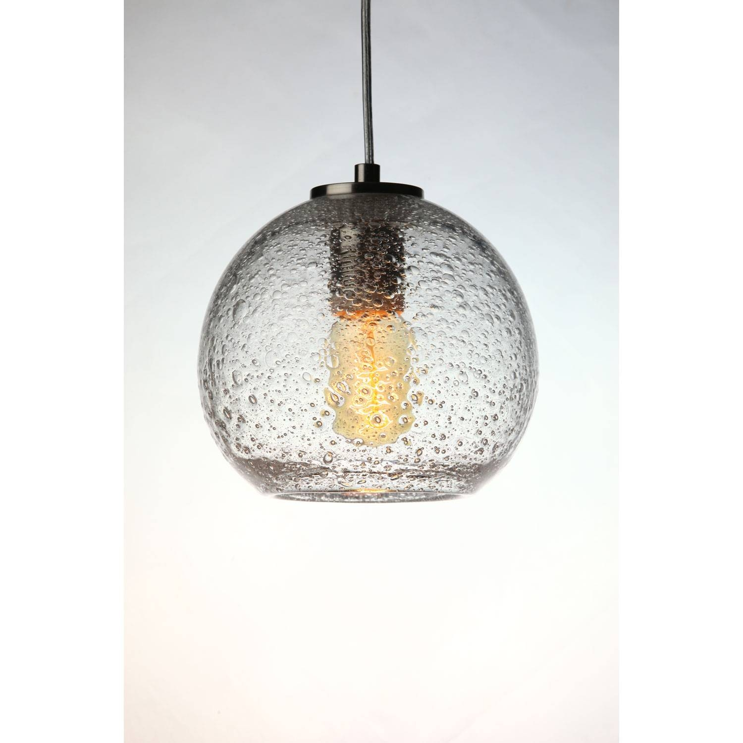 Exquisite Bubble Glass Pendant Light Dining Room | The Gather with regard to Clear Globe Pendant Lights (Image 3 of 15)