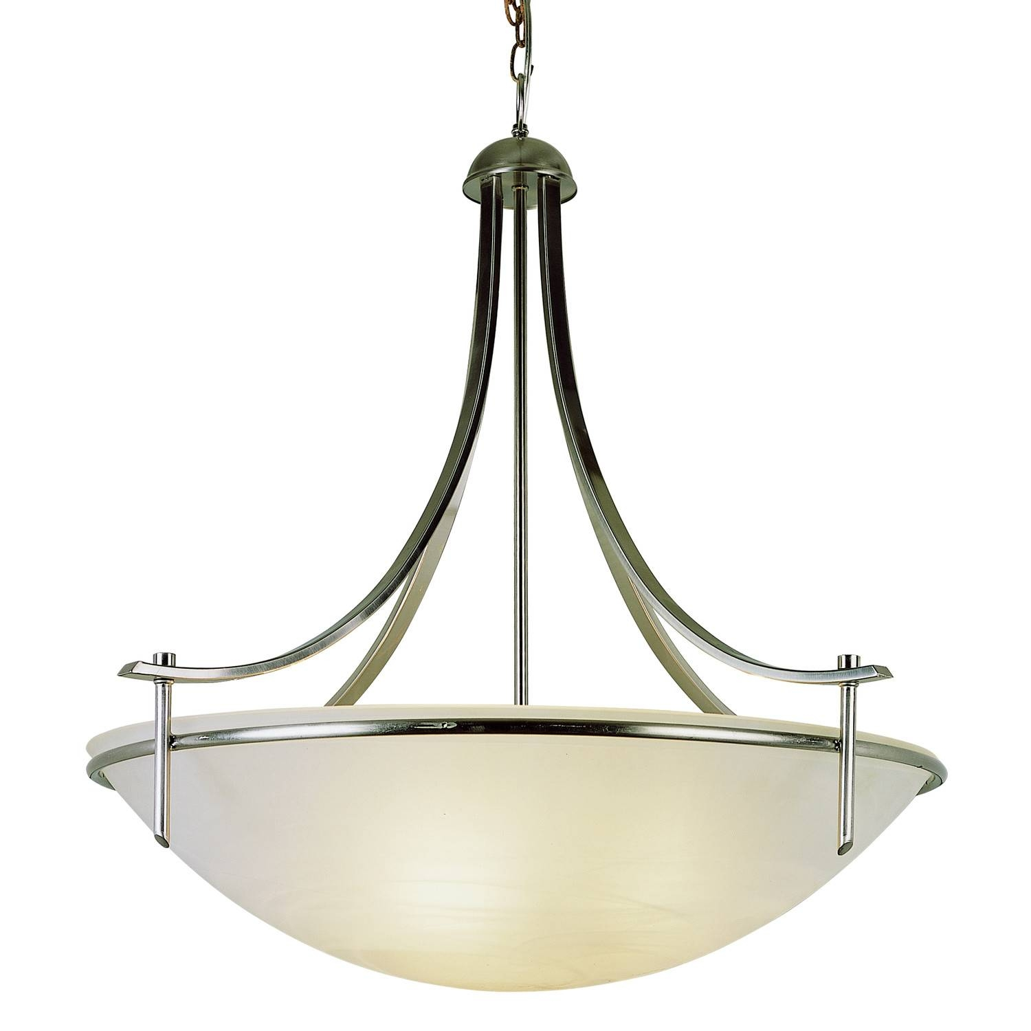 Exterior: Classic Three Light Inverted Pendant Lightingtrans with regard to Inverted Pendant Lighting (Image 5 of 15)