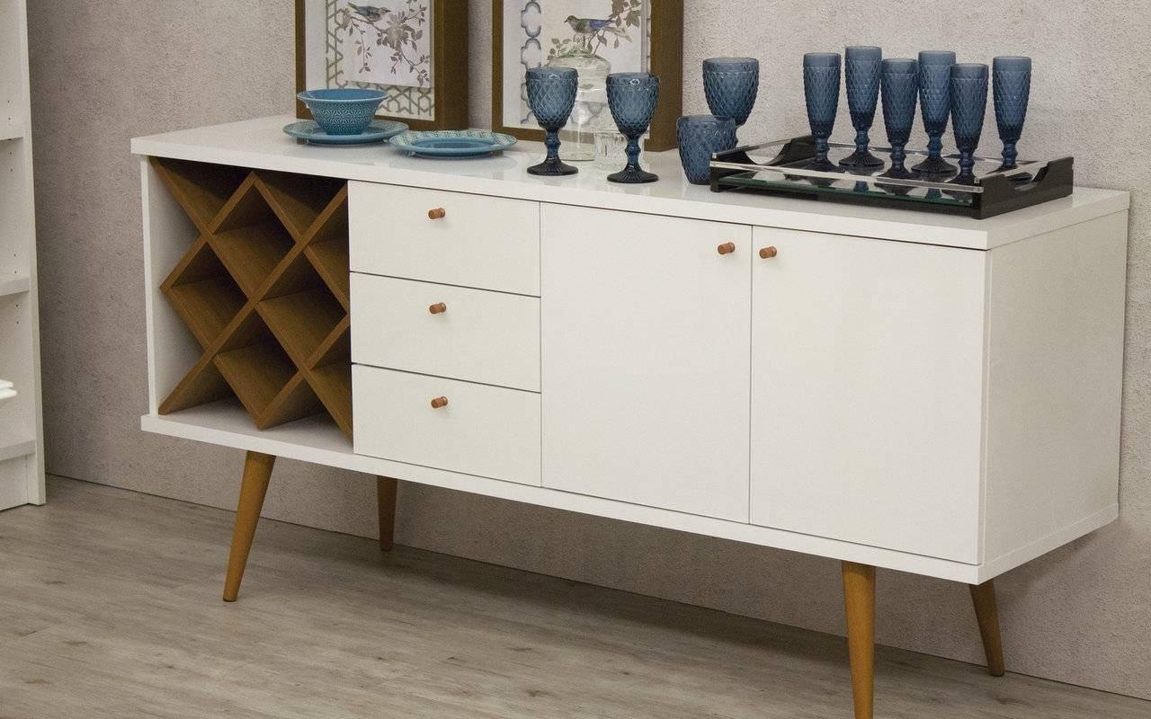 Extraordinary Wine Buffet Hutch Sideboard With Mini Fridge Buffet with Wine Sideboards (Image 4 of 15)