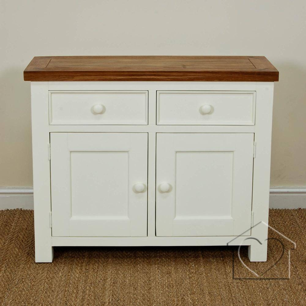 Farmhouse Cream 2 Drawer 2 Door Sideboard - £259.00 - A Fantastic throughout Farmhouse Sideboards (Image 5 of 15)