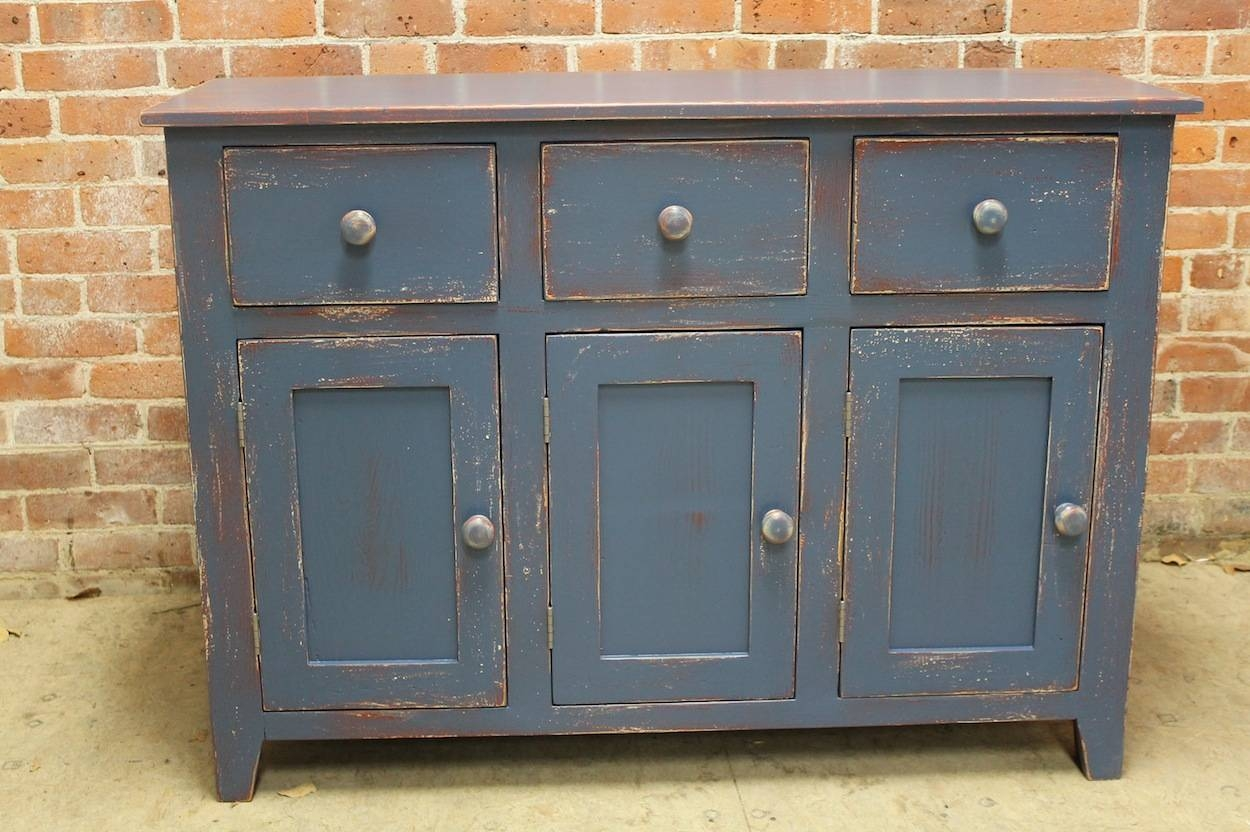 Farmhouse Sideboard Buffets pertaining to Painted Sideboards And Buffets (Image 3 of 15)