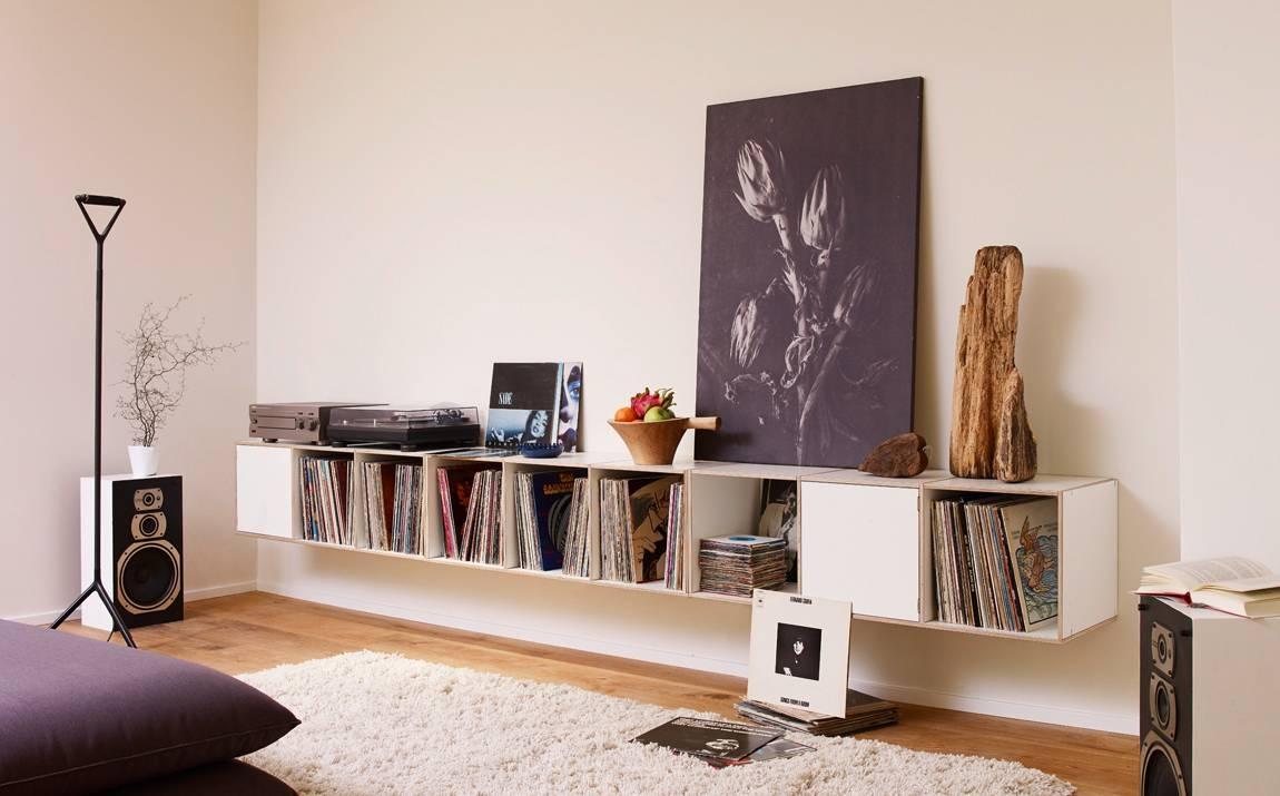 Formvielfalt Für Erweiterbare Schallplattenregale Online Pertaining To Zum Aufhängen Sideboards (View 15 of 15)