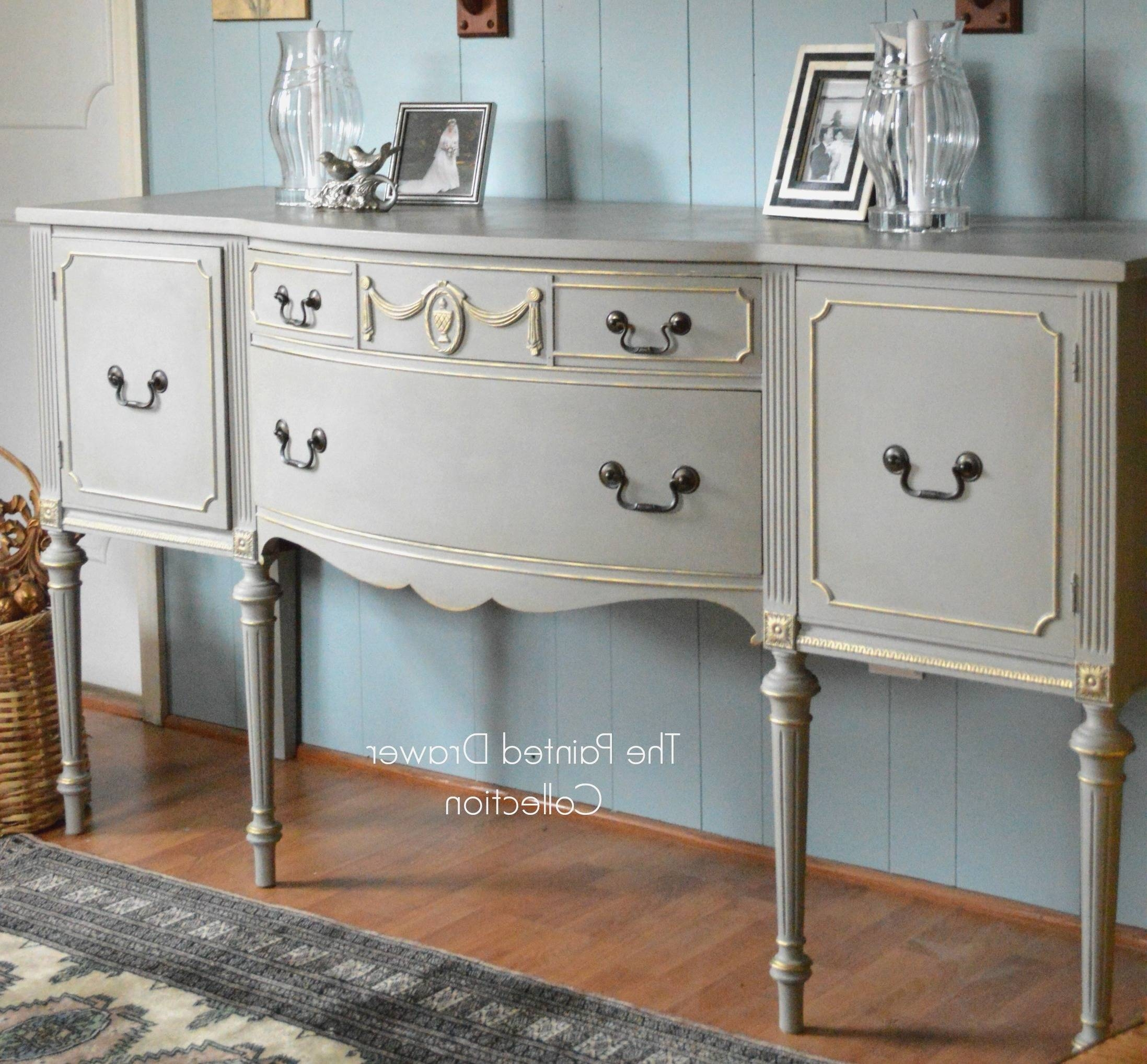 Fresh Vintage Sideboards And Buffets - Bjdgjy in Antique White Sideboards (Image 4 of 15)