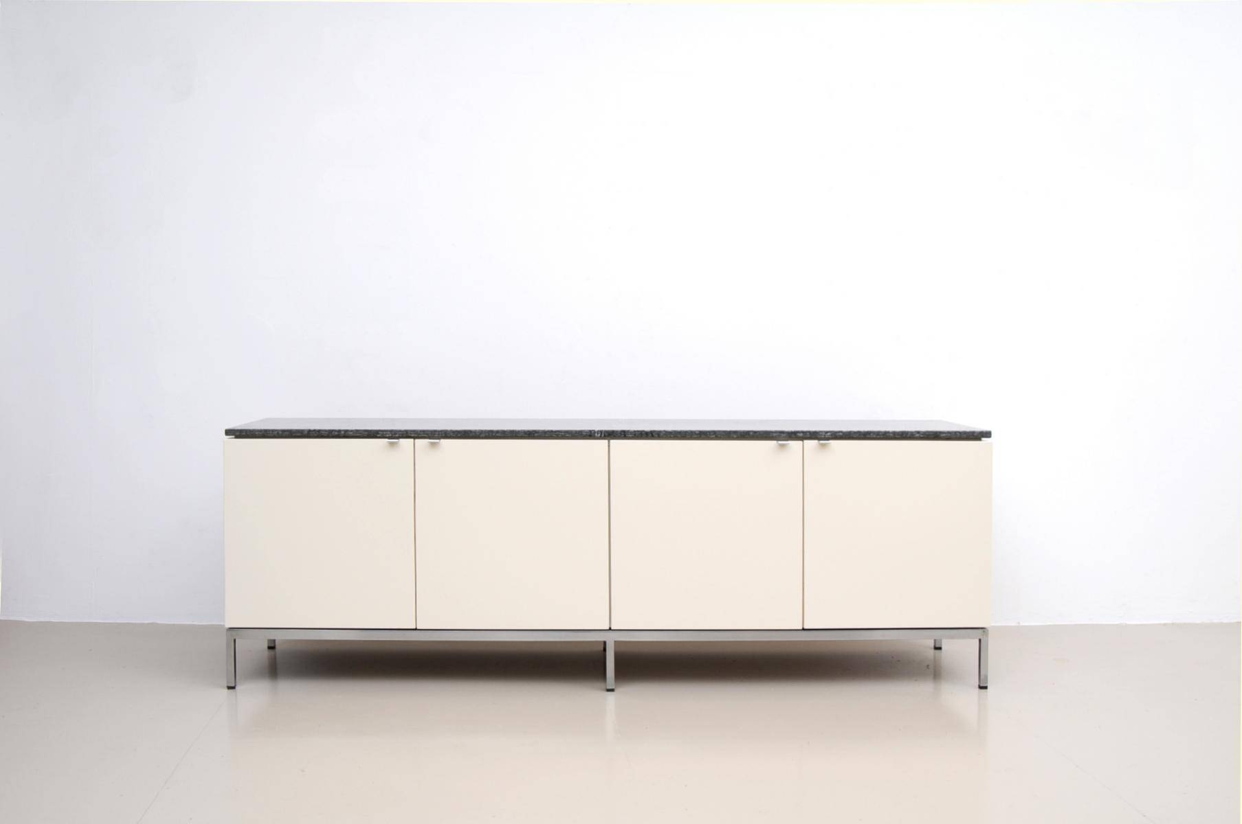 German Marble Top Sideboardflorence Knoll For Knoll for Sideboards With Marble Tops (Image 9 of 15)
