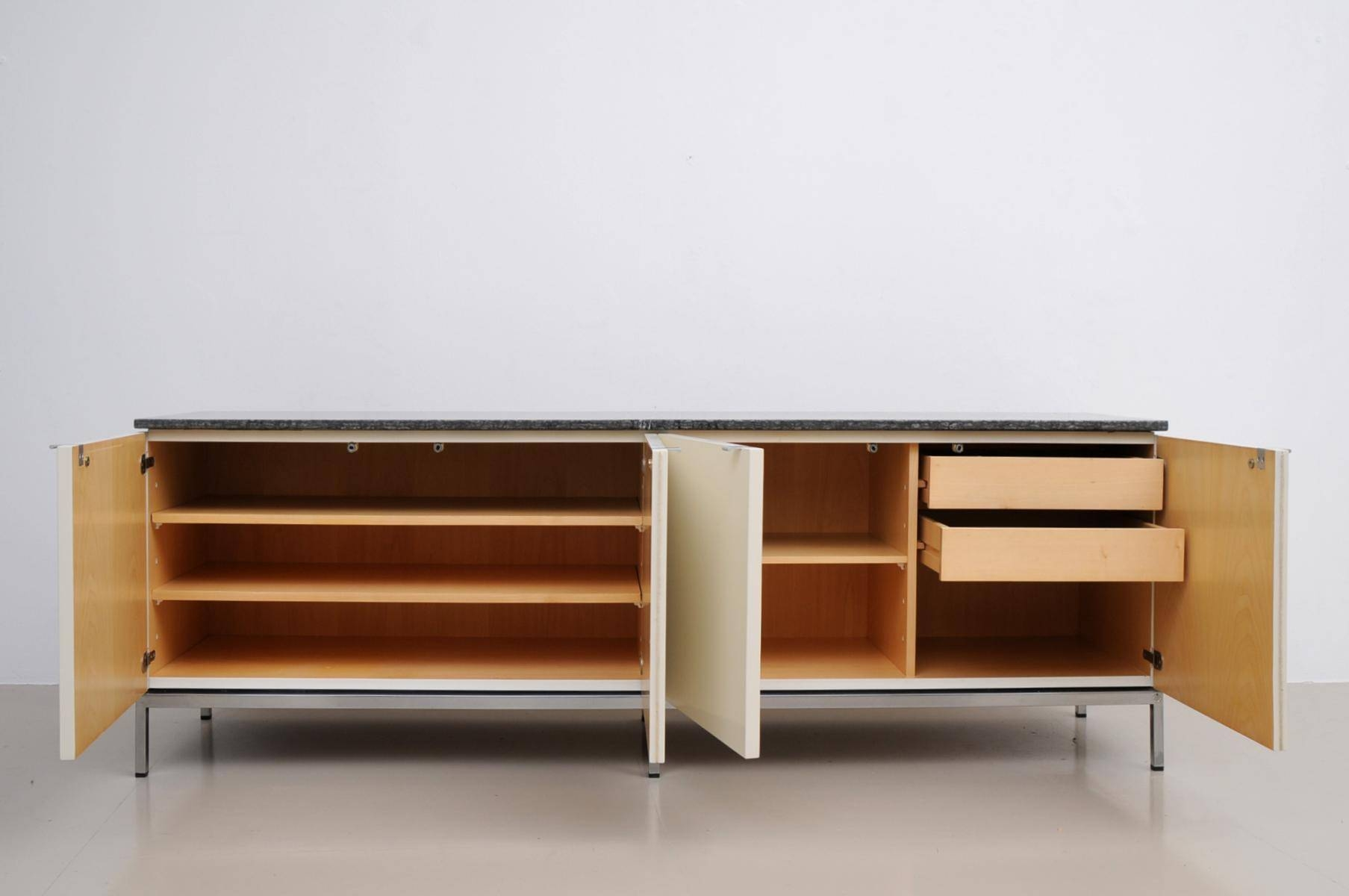 German Marble Top Sideboardflorence Knoll For Knoll With Regard To Sideboards With Marble Tops (View 10 of 15)