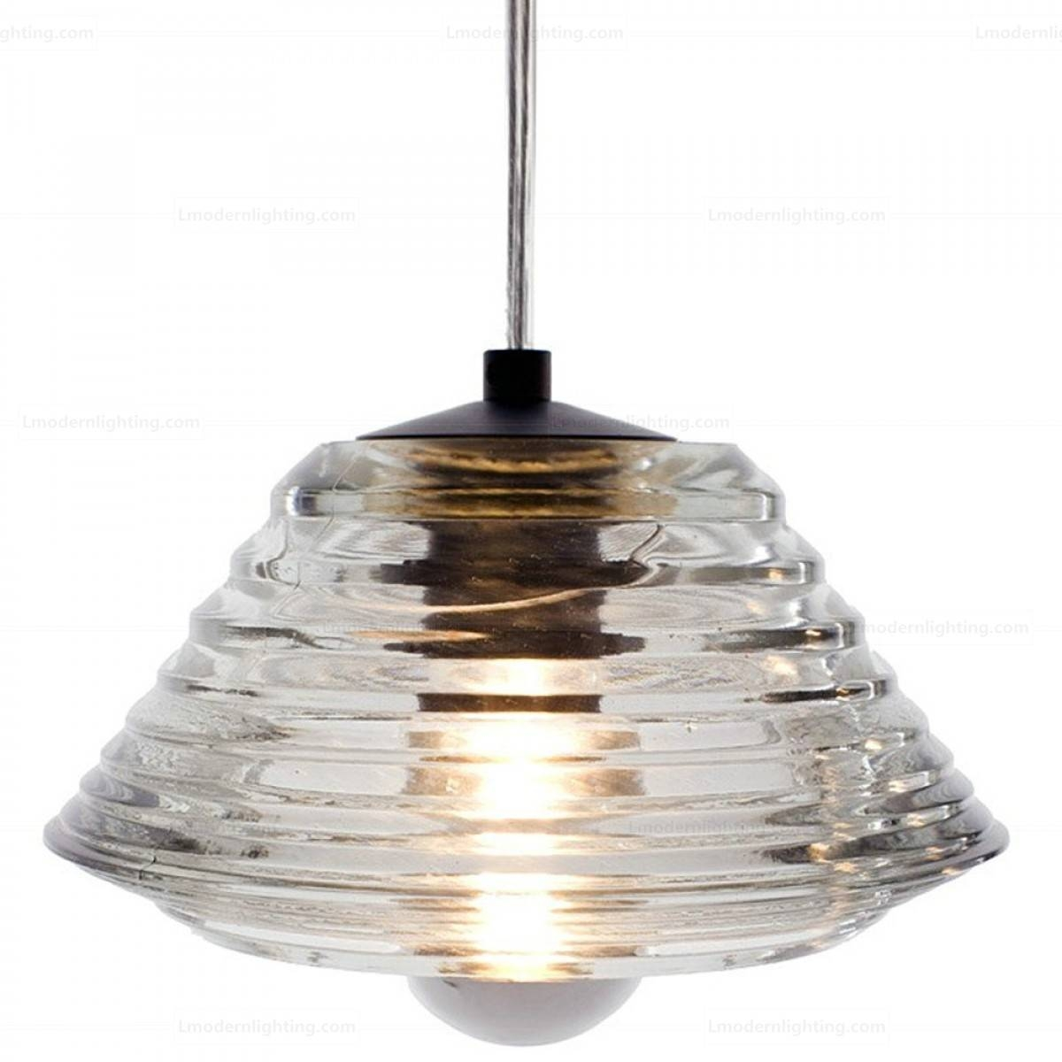 Glass Bowl Pendant Light With Glass Bowl Pendant Lights (View 2 of 15)