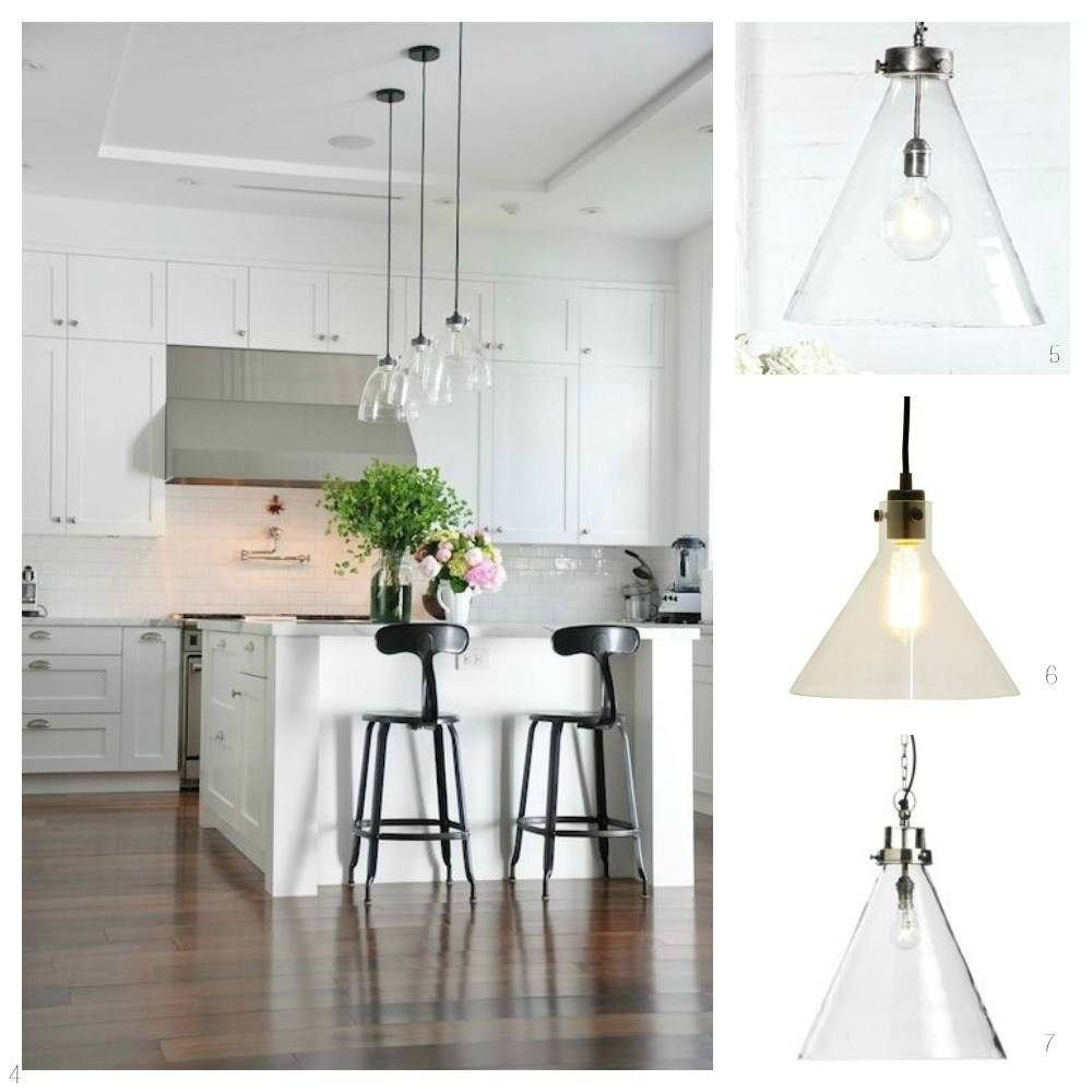 Glass Pendant Lights For The Kitchen – Diy Decorator With Regard To Glass Kitchen Pendant Lights (View 4 of 15)