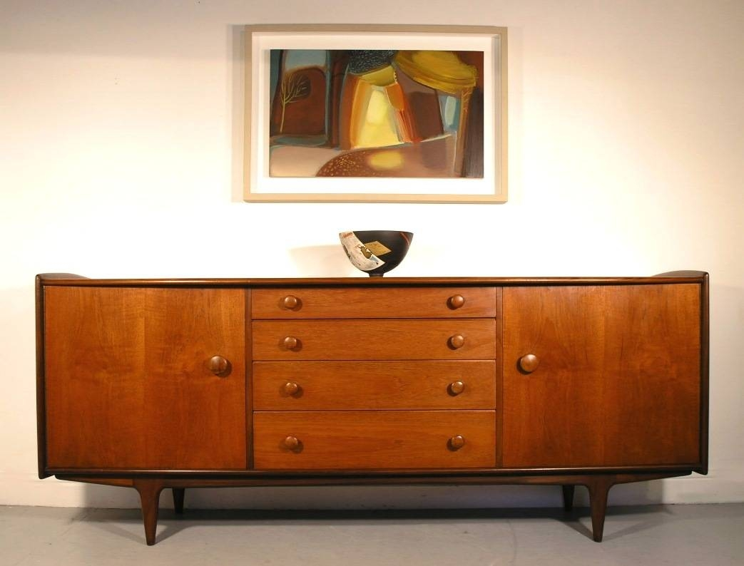 Hayloft Mid-Century Younger Sideboard Teak And Afromosia John Herbert intended for A Younger Sideboards (Image 3 of 15)