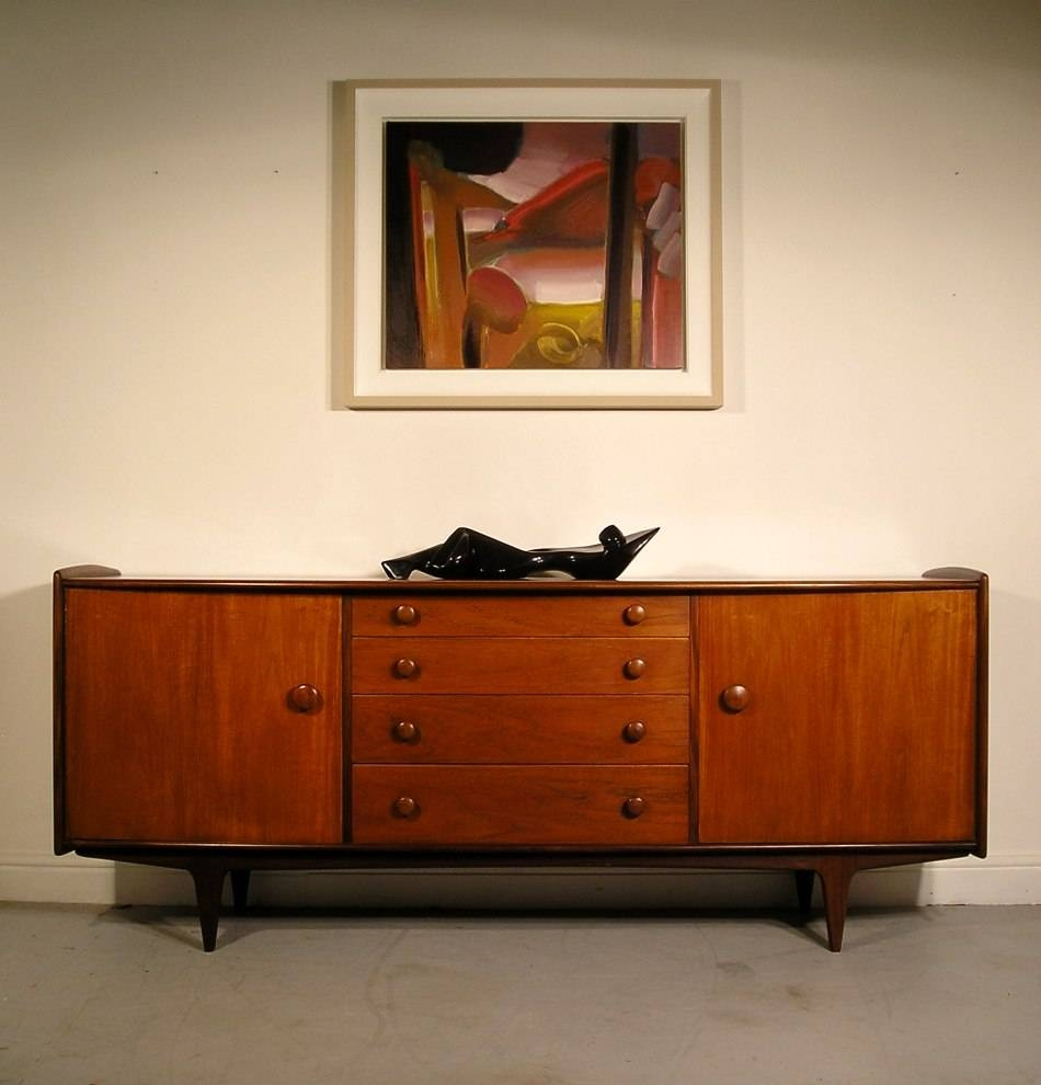 Hayloft Mid-Century Younger Sideboard Teak And Afromosia John Herbert with A Younger Sideboards (Image 4 of 15)