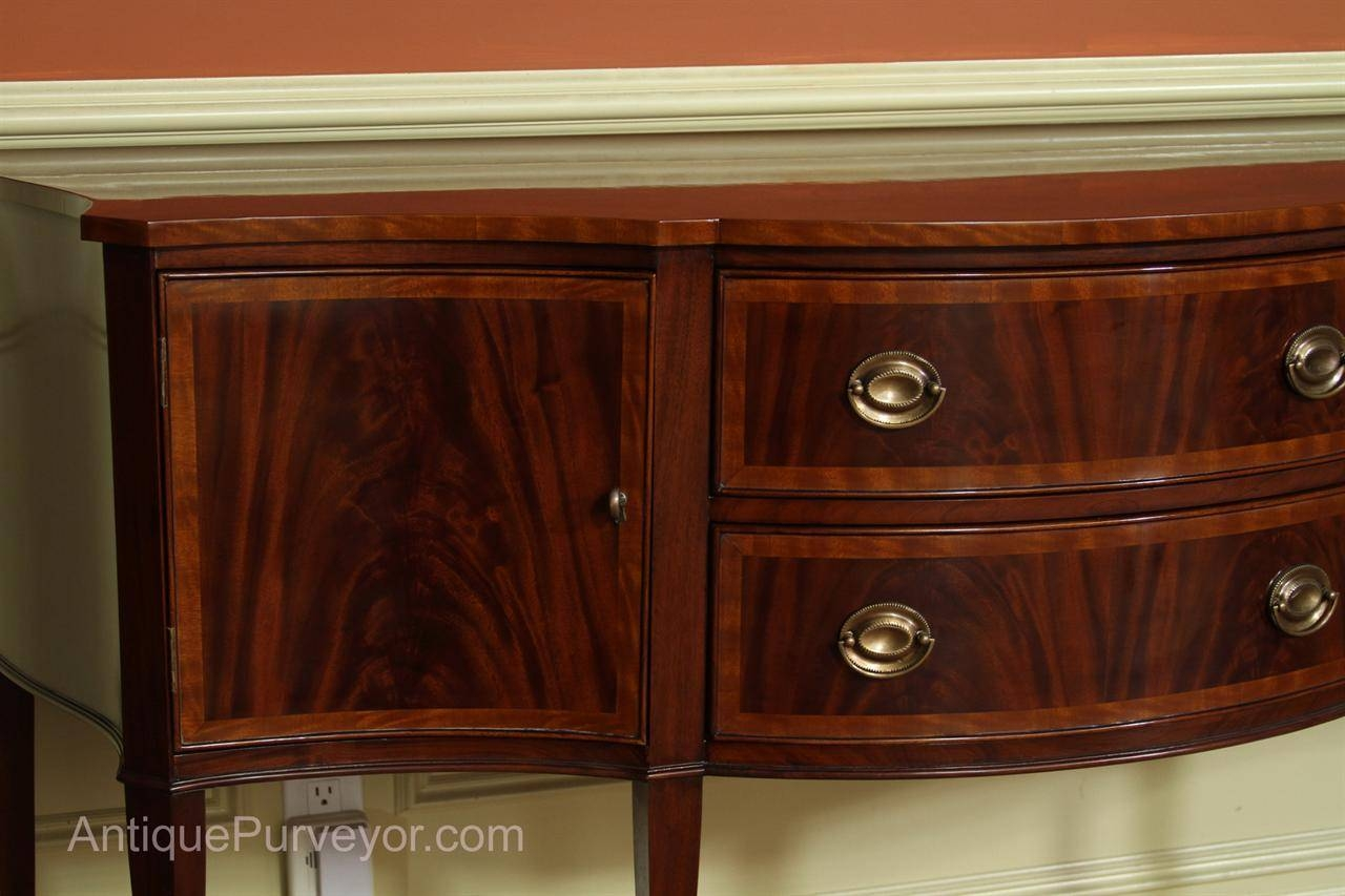 Hepplewhite Or Federal Sideboard, High End Furniture For Hepplewhite Sideboards (View 7 of 15)