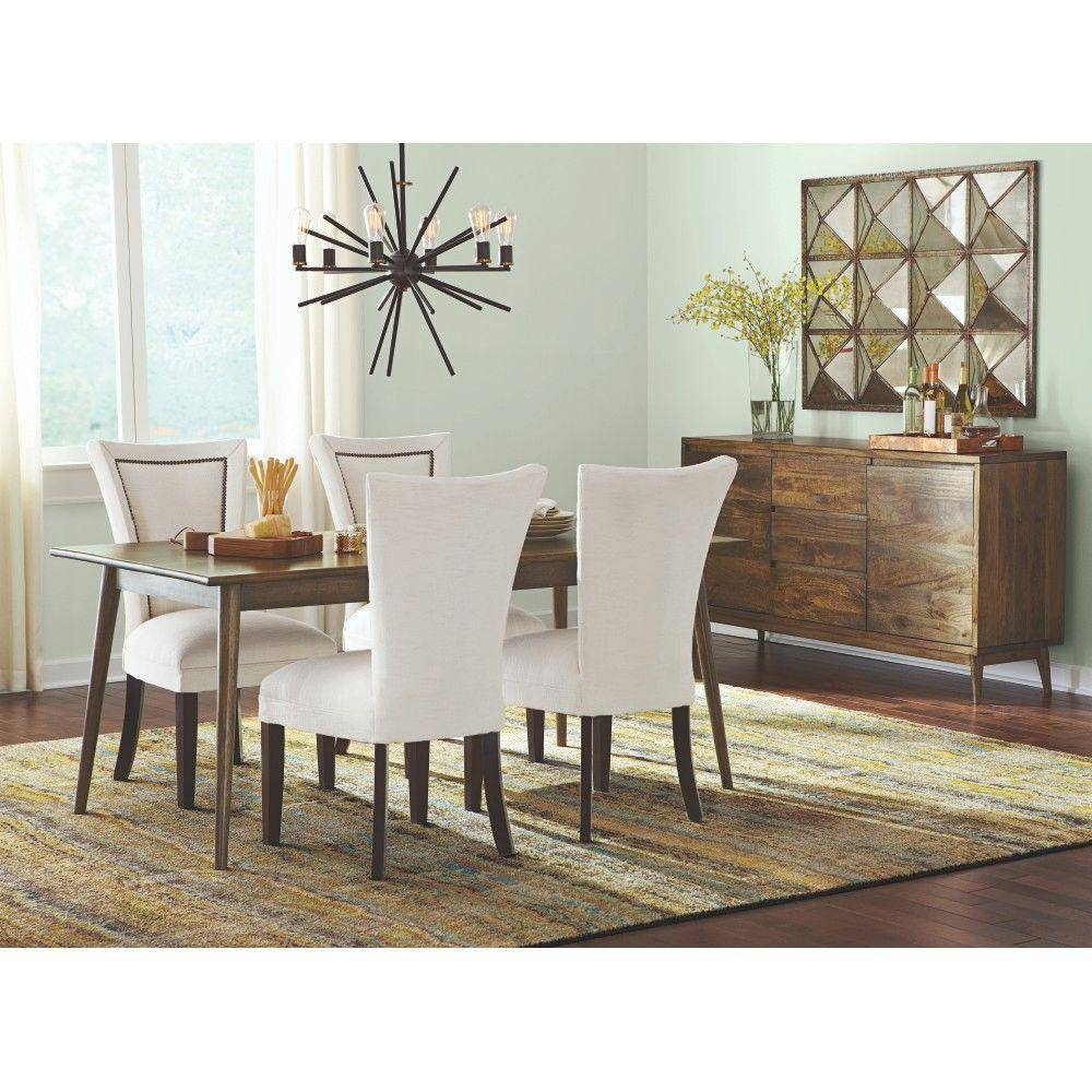 Home Decorators Collection Conrad Antique Natural Dining Table in Dining Room Sets With Sideboards (Image 8 of 15)