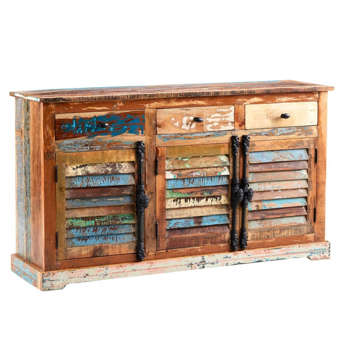 Home Furniture Trading Indian Coastal Reclaimed Wood Large within Indian Sideboard Furniture (Image 6 of 15)