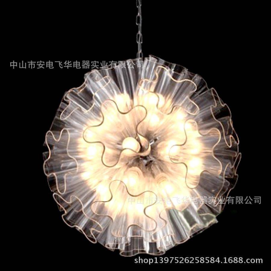 Hot Models Butterfly Flower Pendant Italian Design Advanced For Flower Pendant Lights (View 5 of 15)
