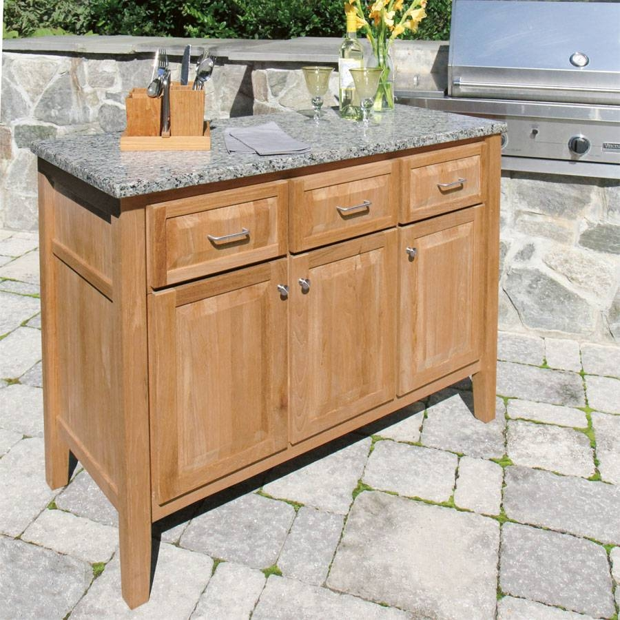 How To Choose An Outdoor Buffet Cabinet with Outdoor Sideboard Cabinets (Image 7 of 15)