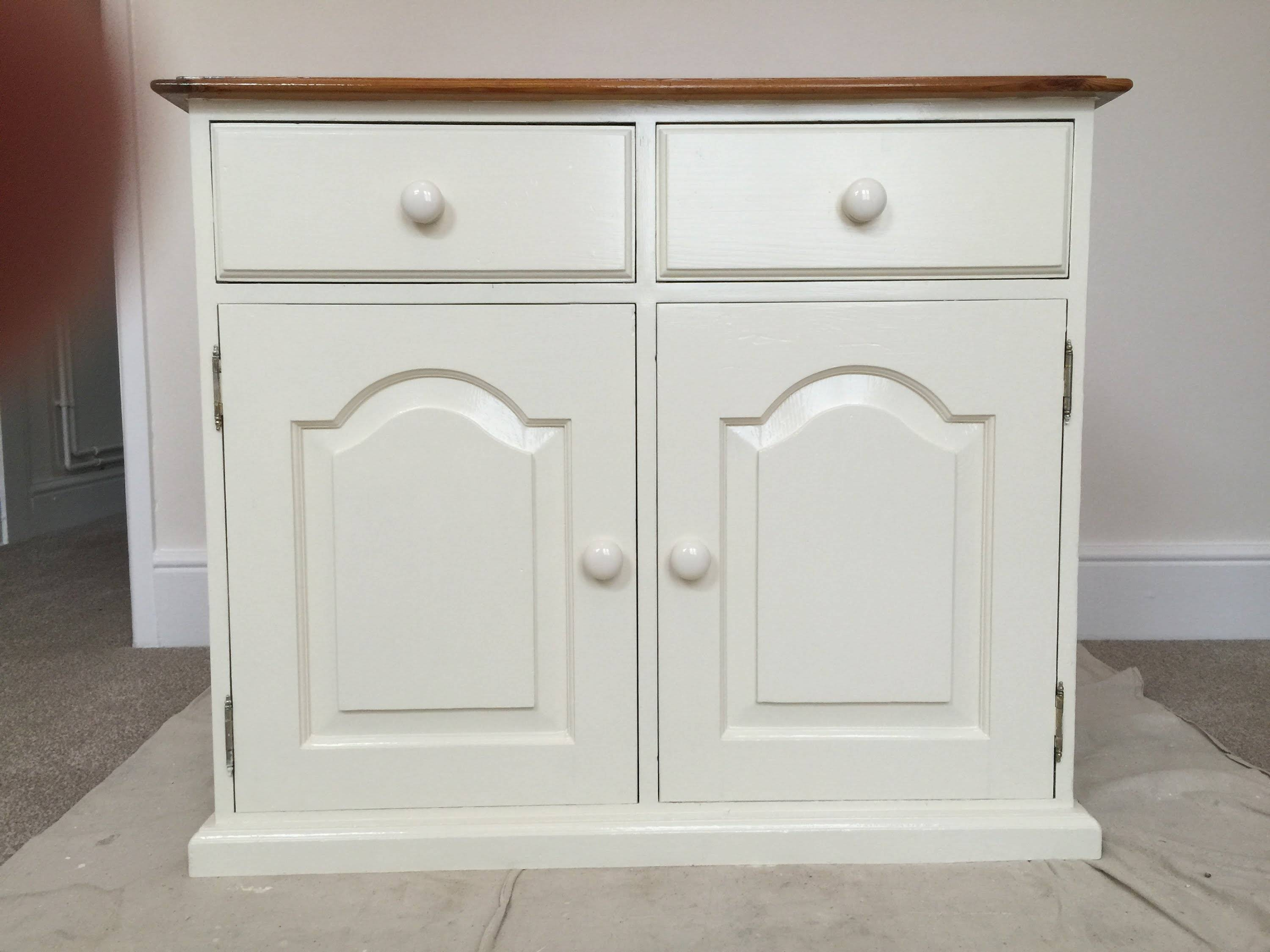 How To Paint Old Pine Furniture, Restoration – Youtube With White Pine Sideboards (View 9 of 15)